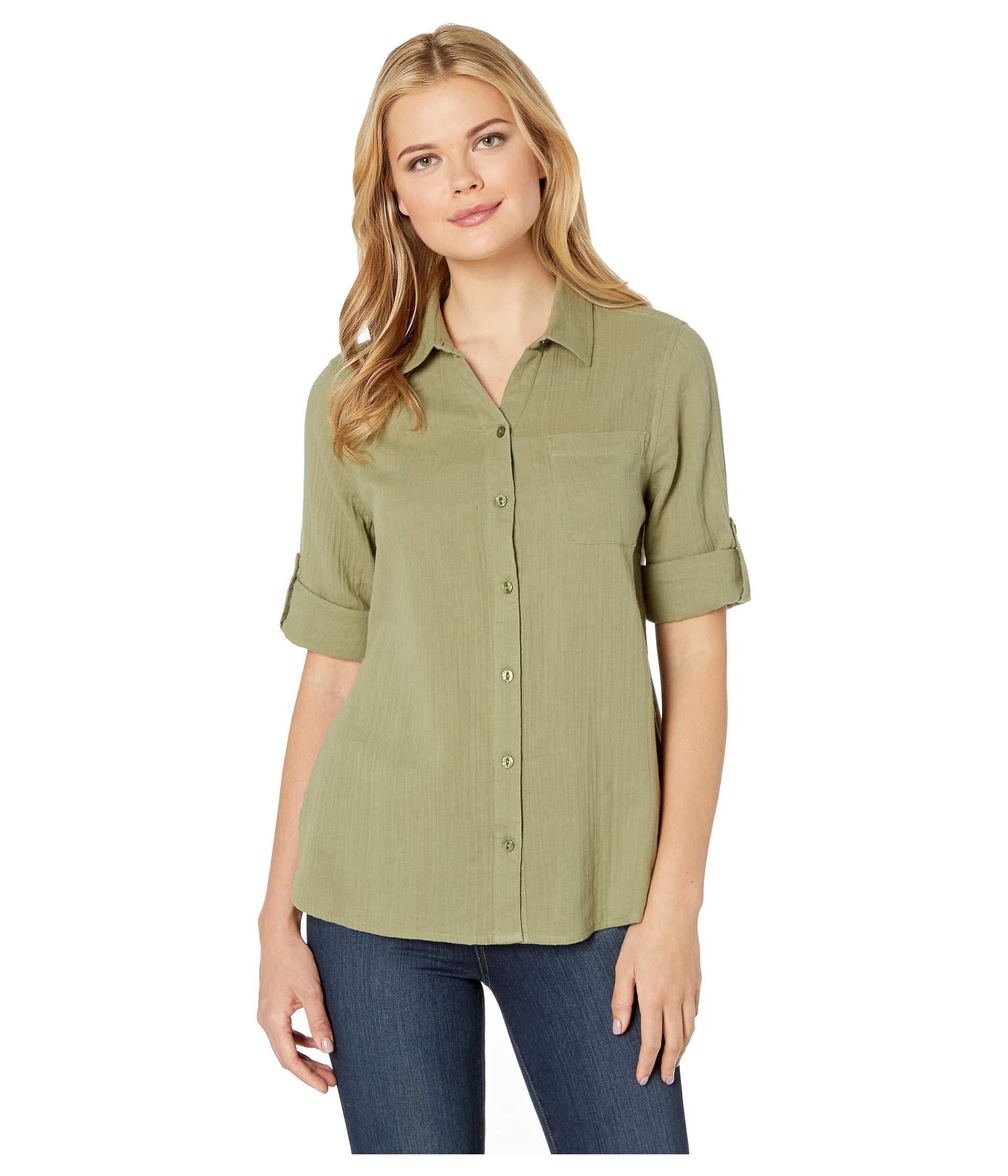 6b224de78a6 Womens Button Up Shirts Short Sleeve   Top Mode Depot
