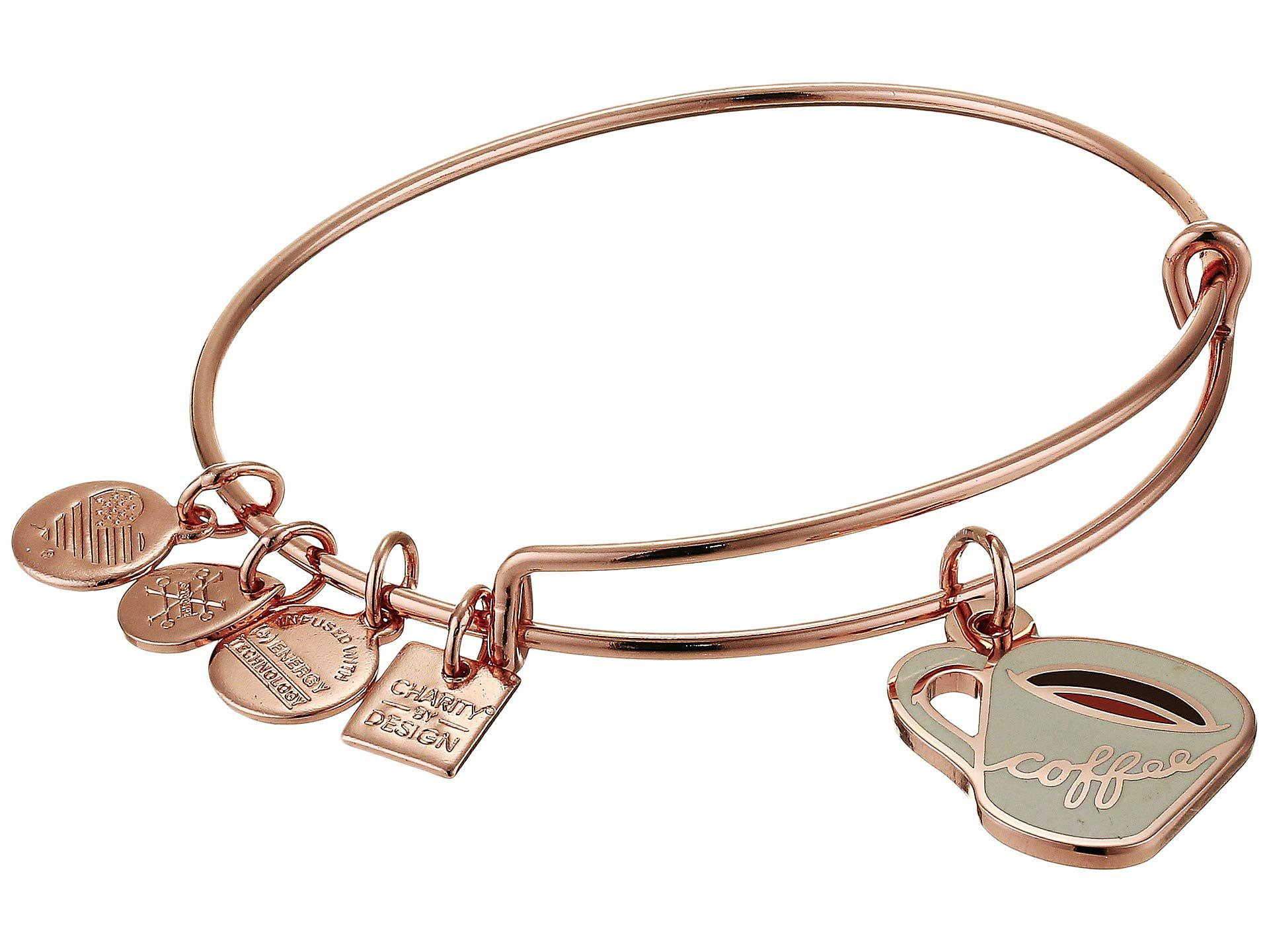 74b1097a2ad Lyst - ALEX AND ANI Charity By Design - Coffee Mug Bangle (shiny ...