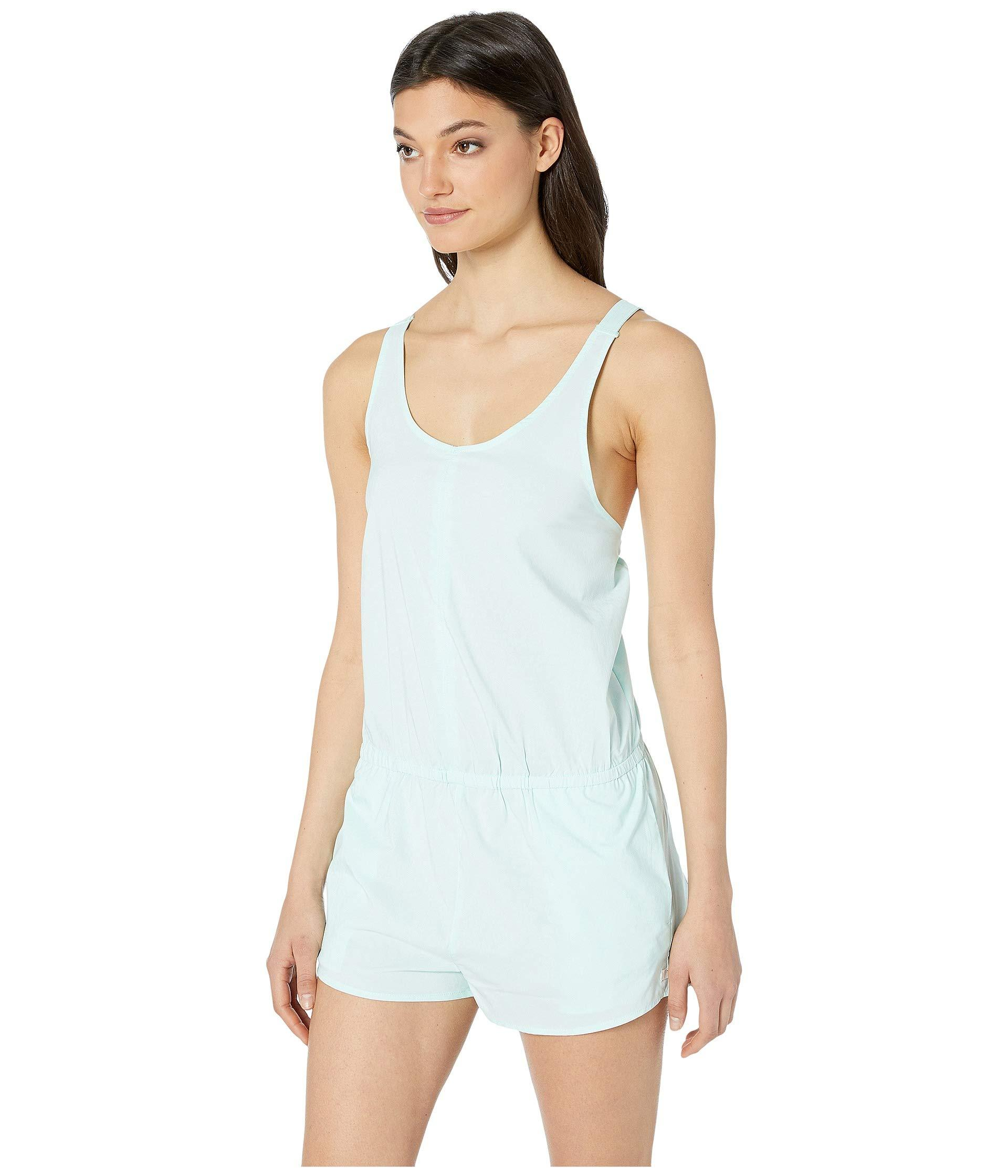 b547592f90 Lyst - Hurley Coastal Leopard Romper (oil Grey) Women's Jumpsuit & Rompers  One Piece