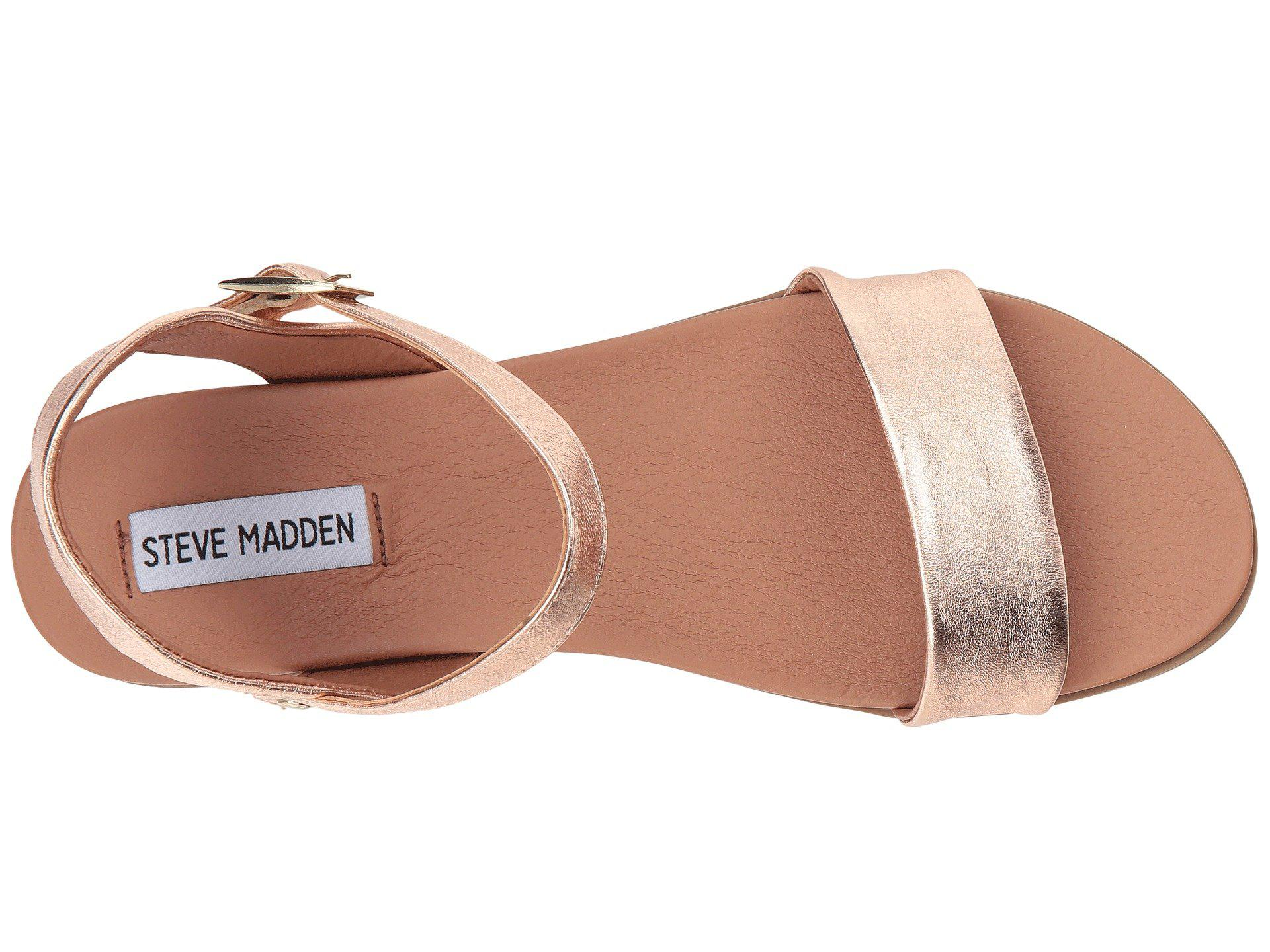 772b42969a Steve Madden - Multicolor Dina Sandal (black Leather) Women's Sandals -  Lyst. View fullscreen