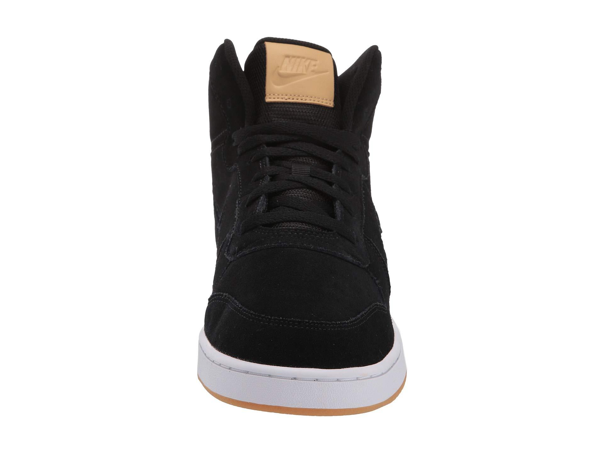 newest 6ae42 a6518 Nike - Black Ebernon Mid Premium (dark Grey blue Void white) Men s. View  fullscreen