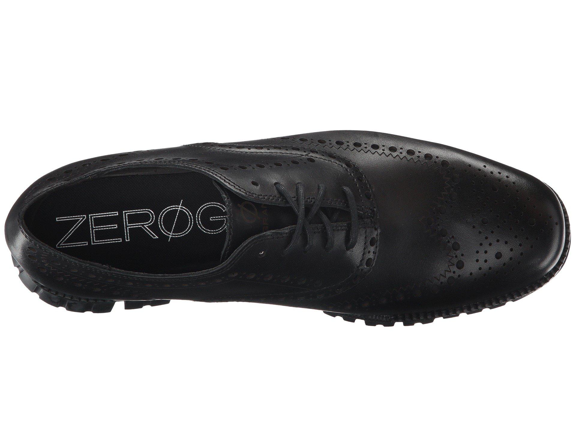 ff82753e1 Cole Haan - Black Zerogrand Wing Ox (navy Ink Leather Closed ironstone)  Men s. View fullscreen