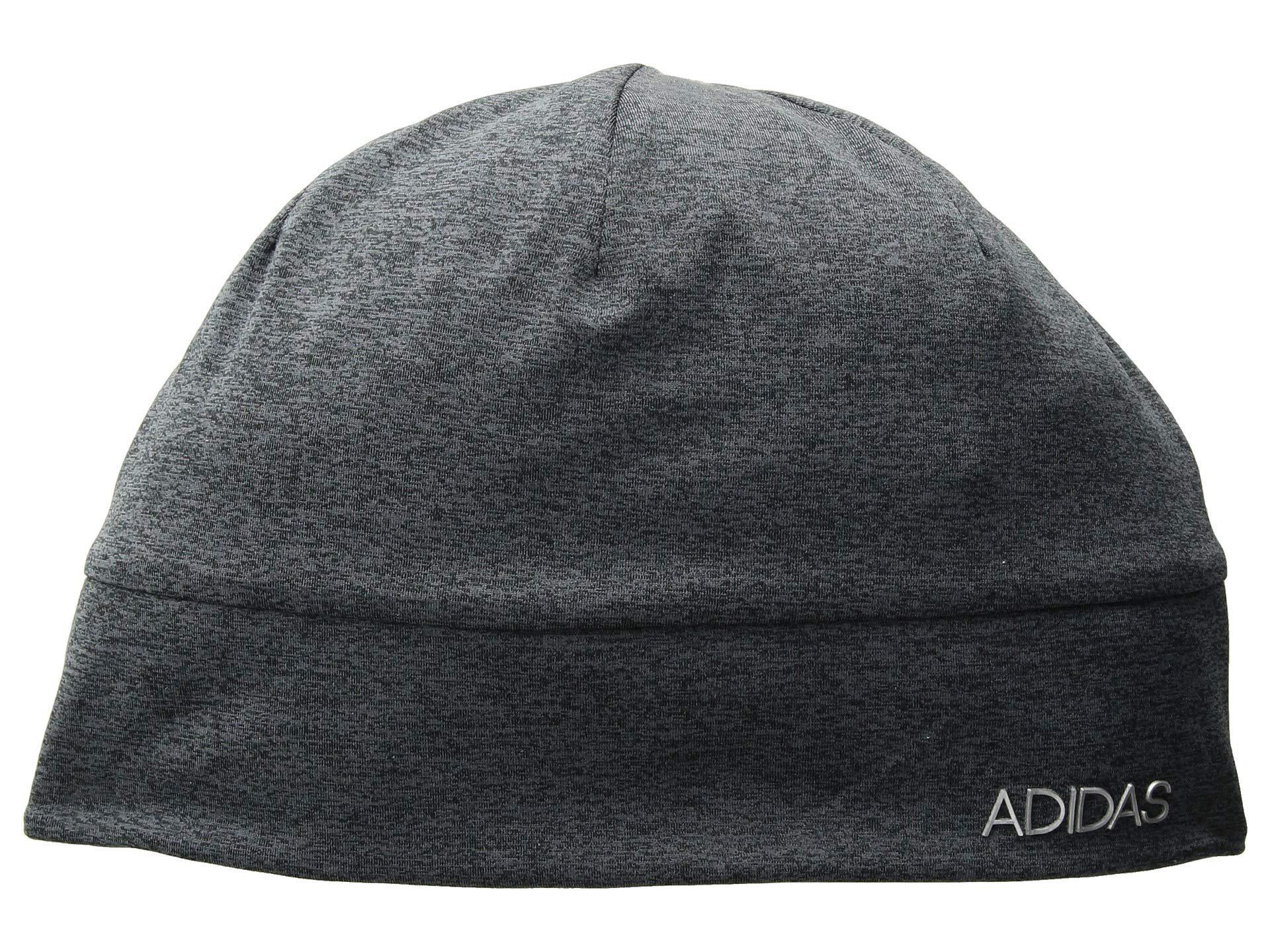 3e7a0f6bb70 Adidas - Heather Tech Beanie (black deepest Space matte Silver 1) Beanies.  View fullscreen