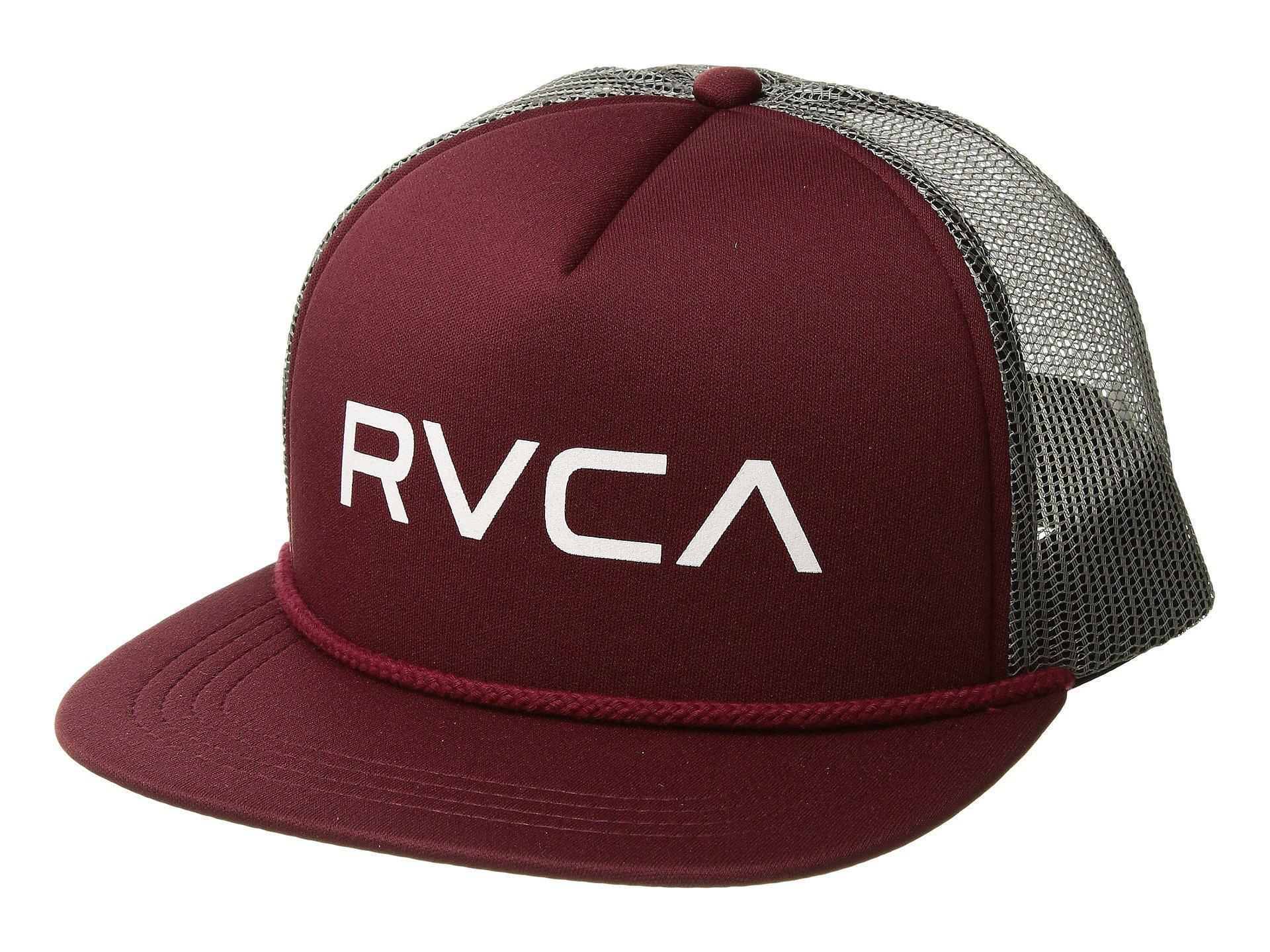 fcd125c0 Lyst - RVCA Foamy Trucker (tawny) Caps for Men