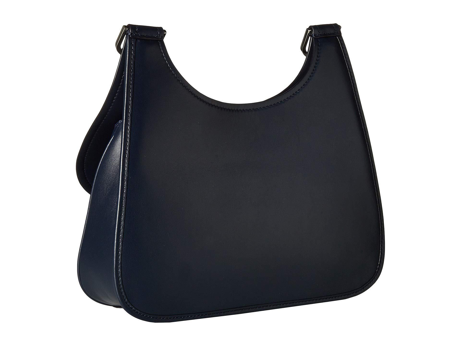 68b3f92da86 Tory Burch - Blue James Saddlebag (moose) Handbags - Lyst. View fullscreen