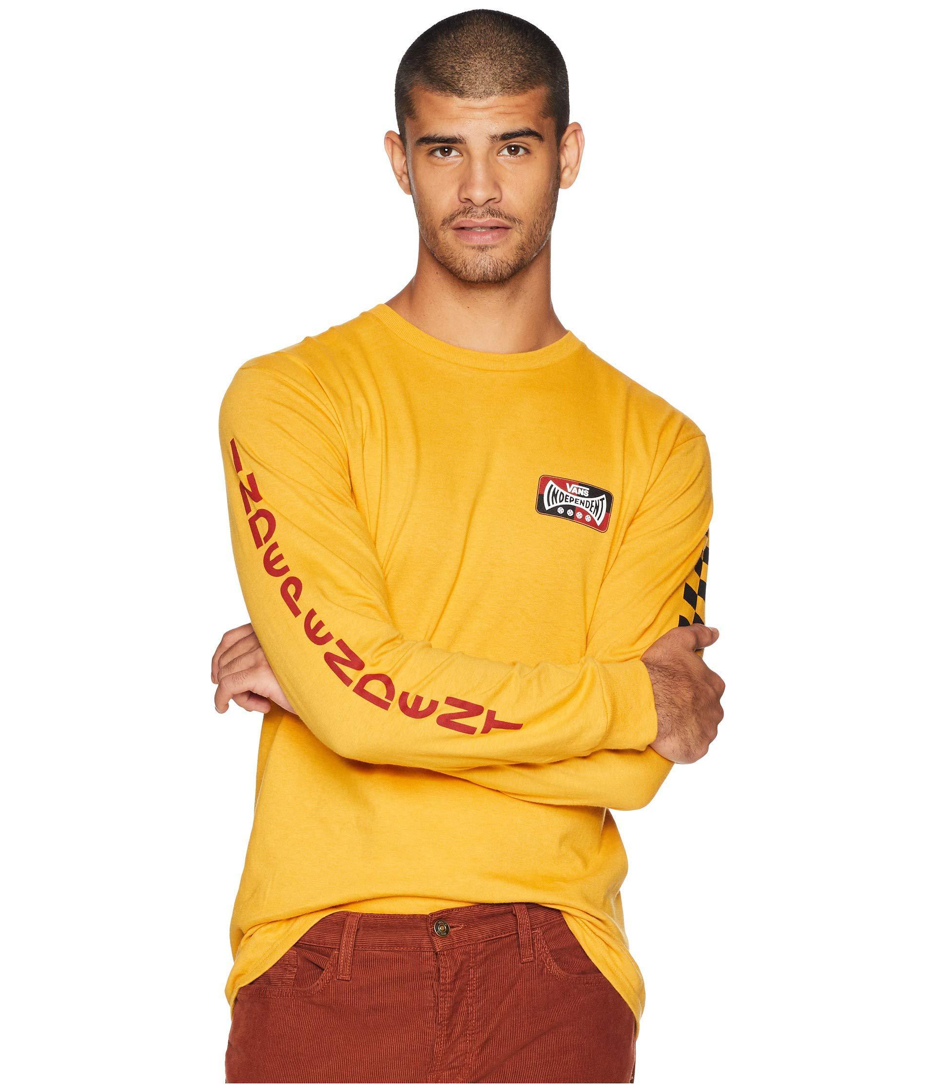 41bbc5bb100cf8 Lyst - Vans X Independent Long Sleeve T-shirt (white) Men s T Shirt ...