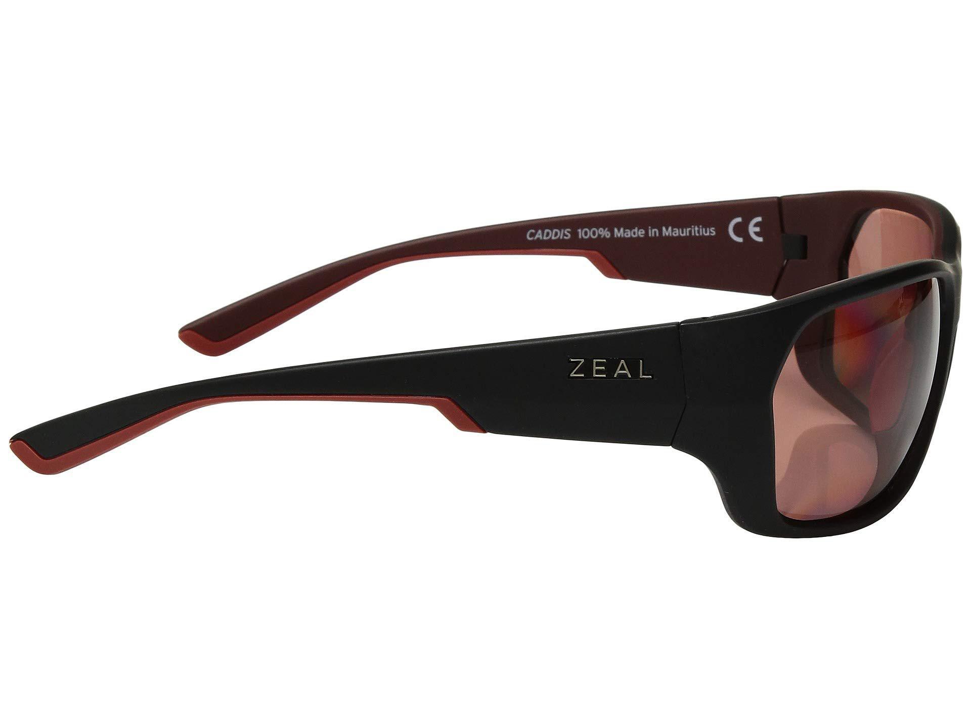 a8d222a4ef4 Lyst - Zeal Optics Caddis (matte Brown Khaki W  Polarized Copper ...