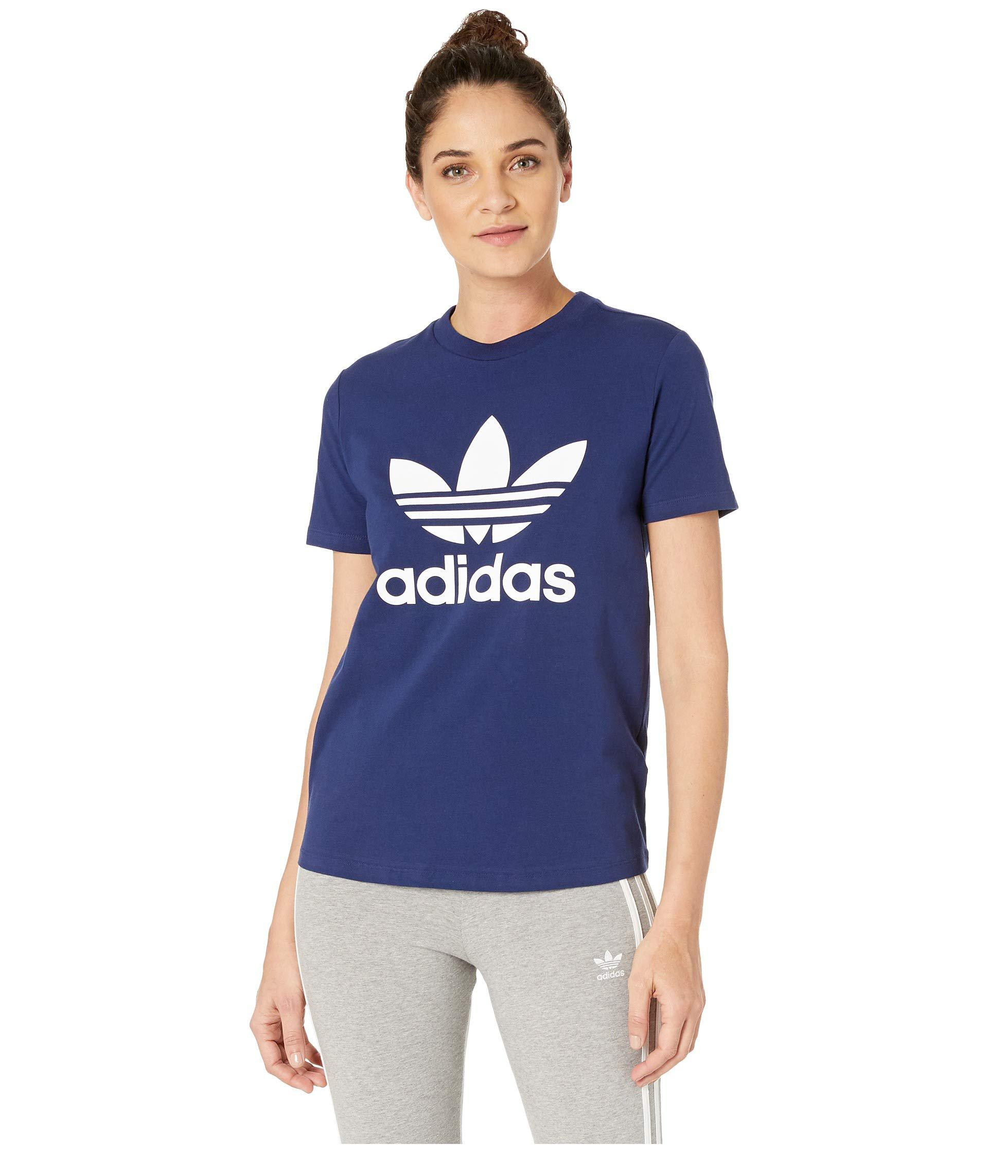 1dd63732fe6 Adidas Trefoil 3 Stripes T Shirt In Sky Blue – EDGE Engineering and ...