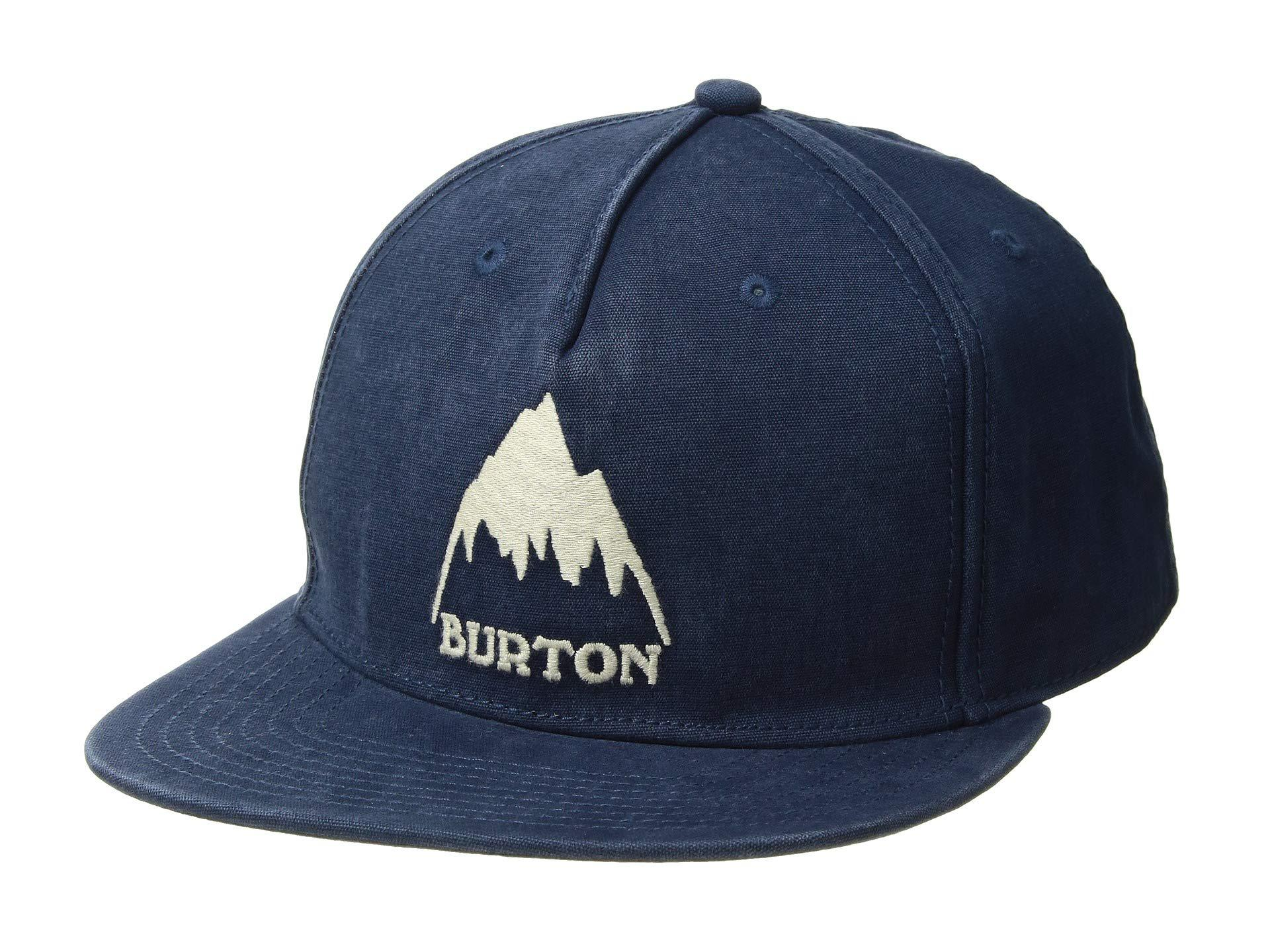 788cf38593a43 Lyst - Burton Roustabout (indigo) Caps in Blue for Men
