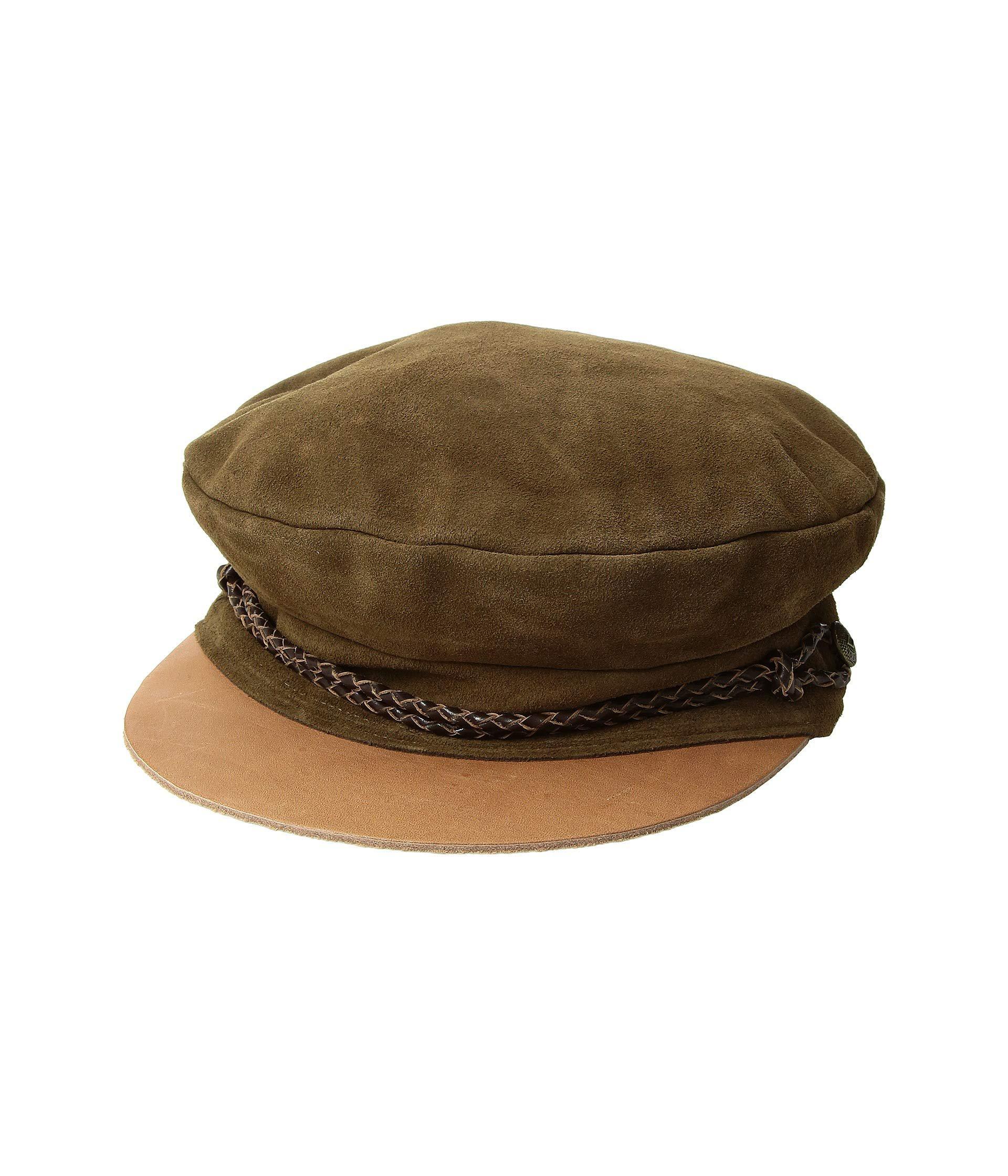 fc060f4889102 Brixton - Brown Kayla Cap (oxblood) Traditional Hats - Lyst. View fullscreen