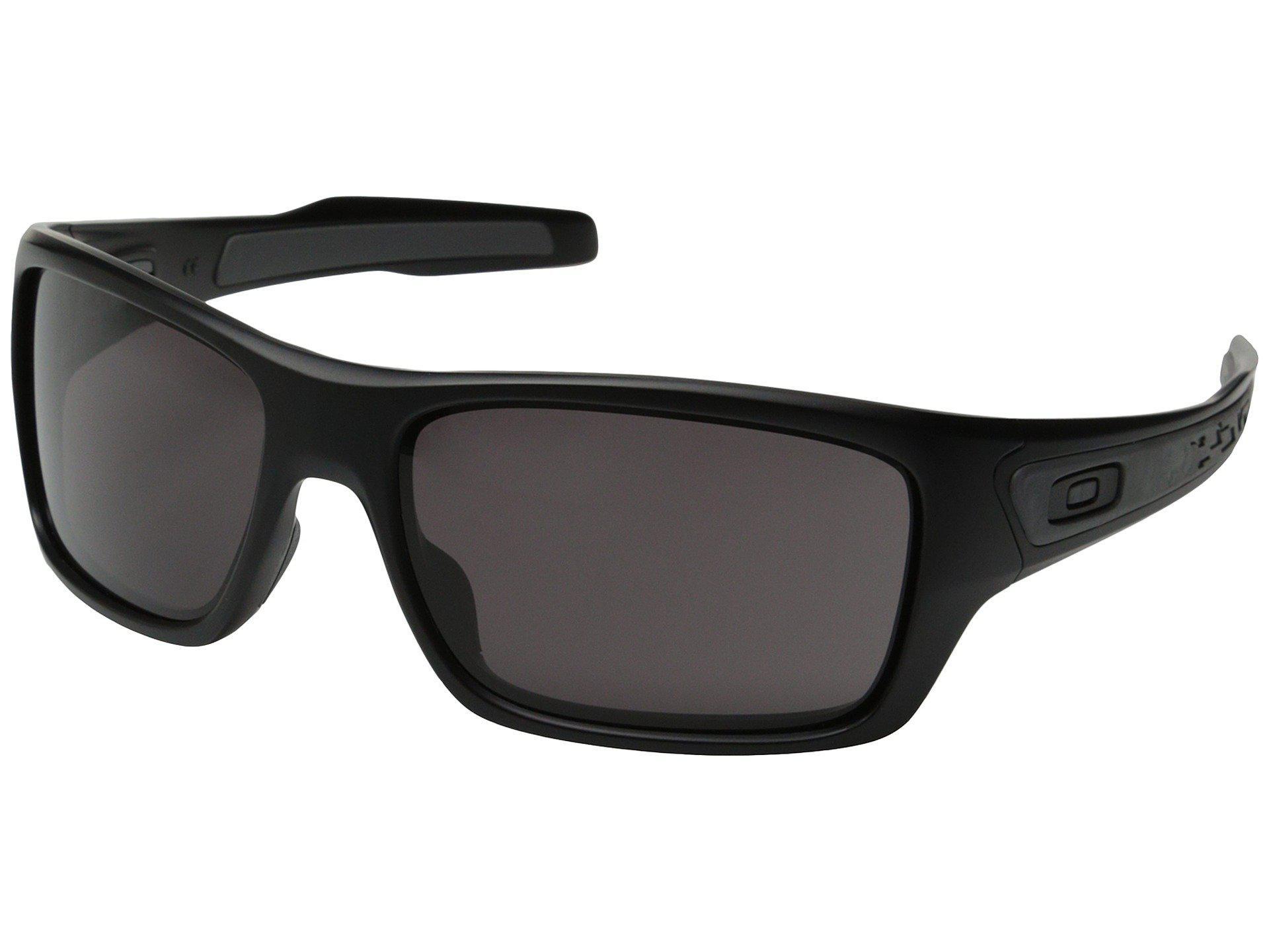 f915f922dd Oakley. Men s Black Turbine (grey Ink ruby Iridium Polarized) Sport  Sunglasses