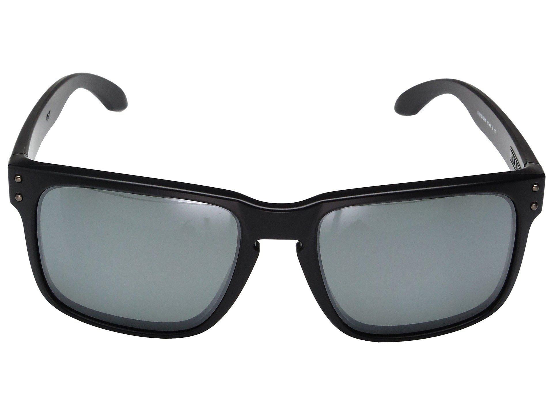 Oakley - Holbrook (matte Black W  Prizm Tungsten Polarized) Sport Sunglasses  for Men. View fullscreen 74787e25d4