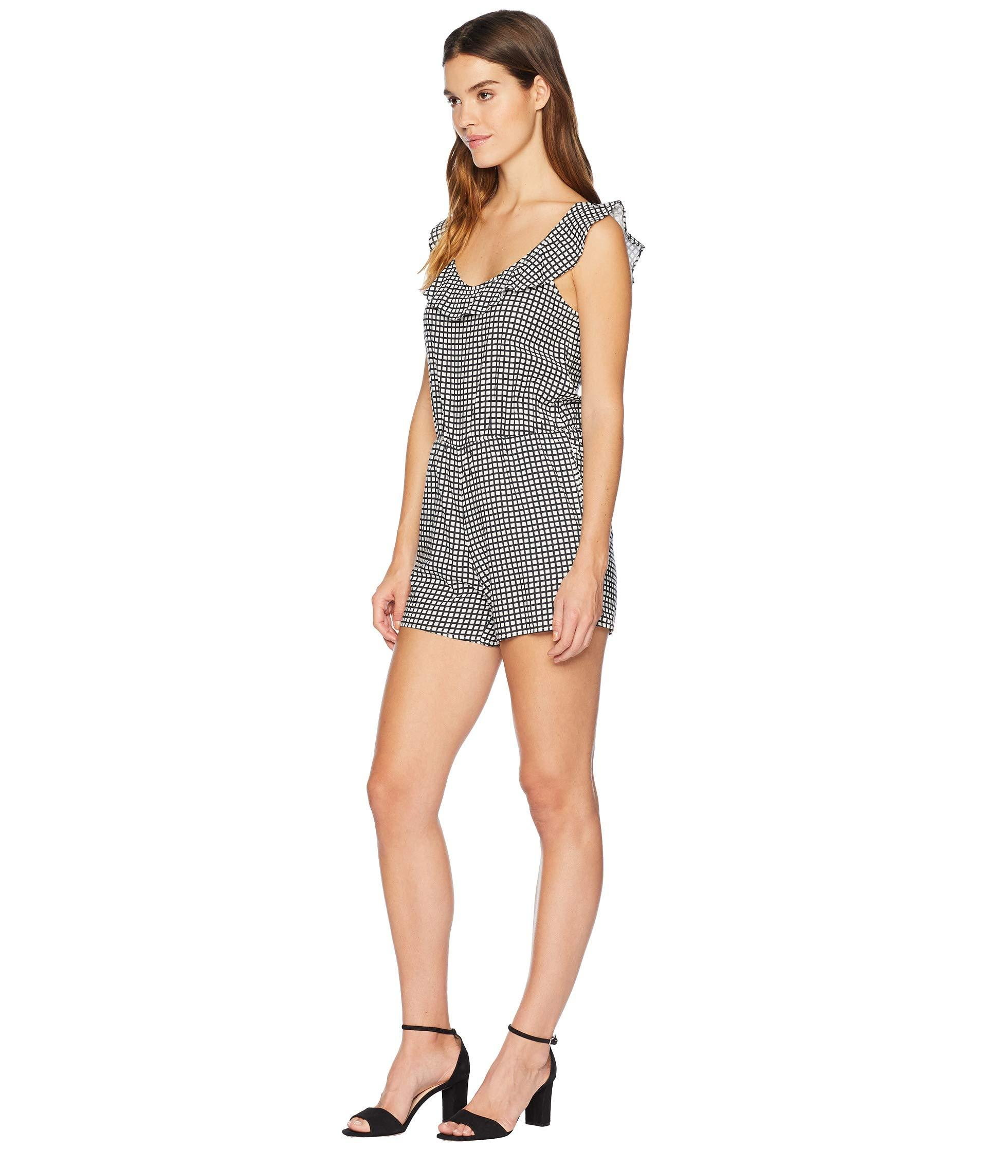a5e8c684110d Lyst - Roxy Temple Of Tropics Romper (cloud Pink Garden Lily) Women s  Jumpsuit   Rompers One Piece in Gray
