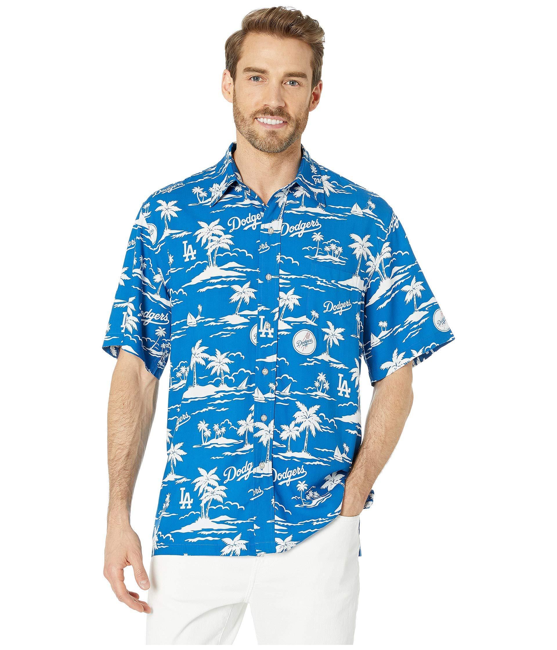 708e31541 Reyn Spooner - La Dodgers Vintage Rayon Shirt (blue) Men's Clothing for Men  -. View fullscreen