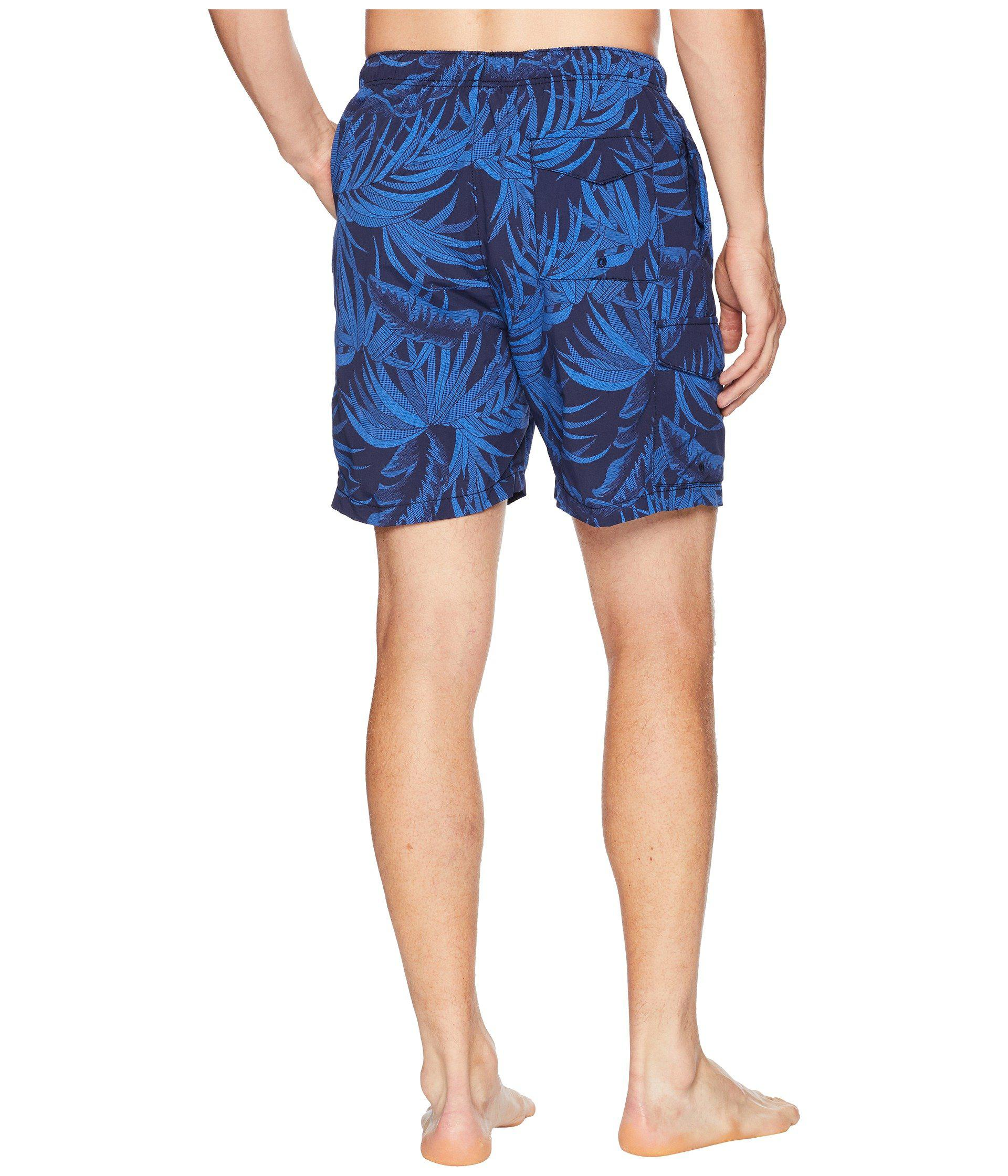 0f310efb81 Lyst - Tommy Bahama Naples Midnight Flora Swim Trunk (ocean Deep ...