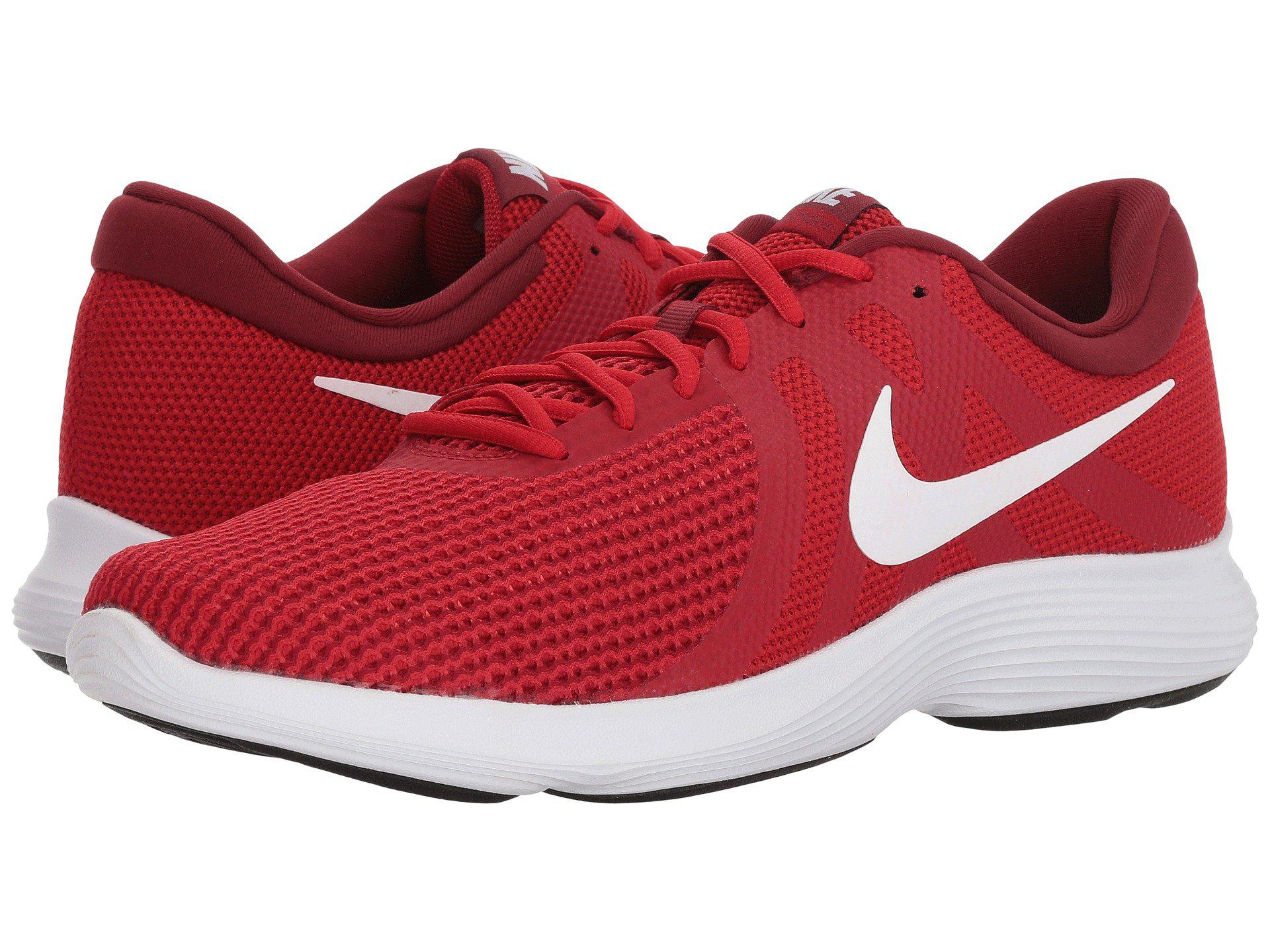 c5d79aaa625e0 Lyst - Nike Revolution 4 Eu Competition Running Shoes in Red for Men