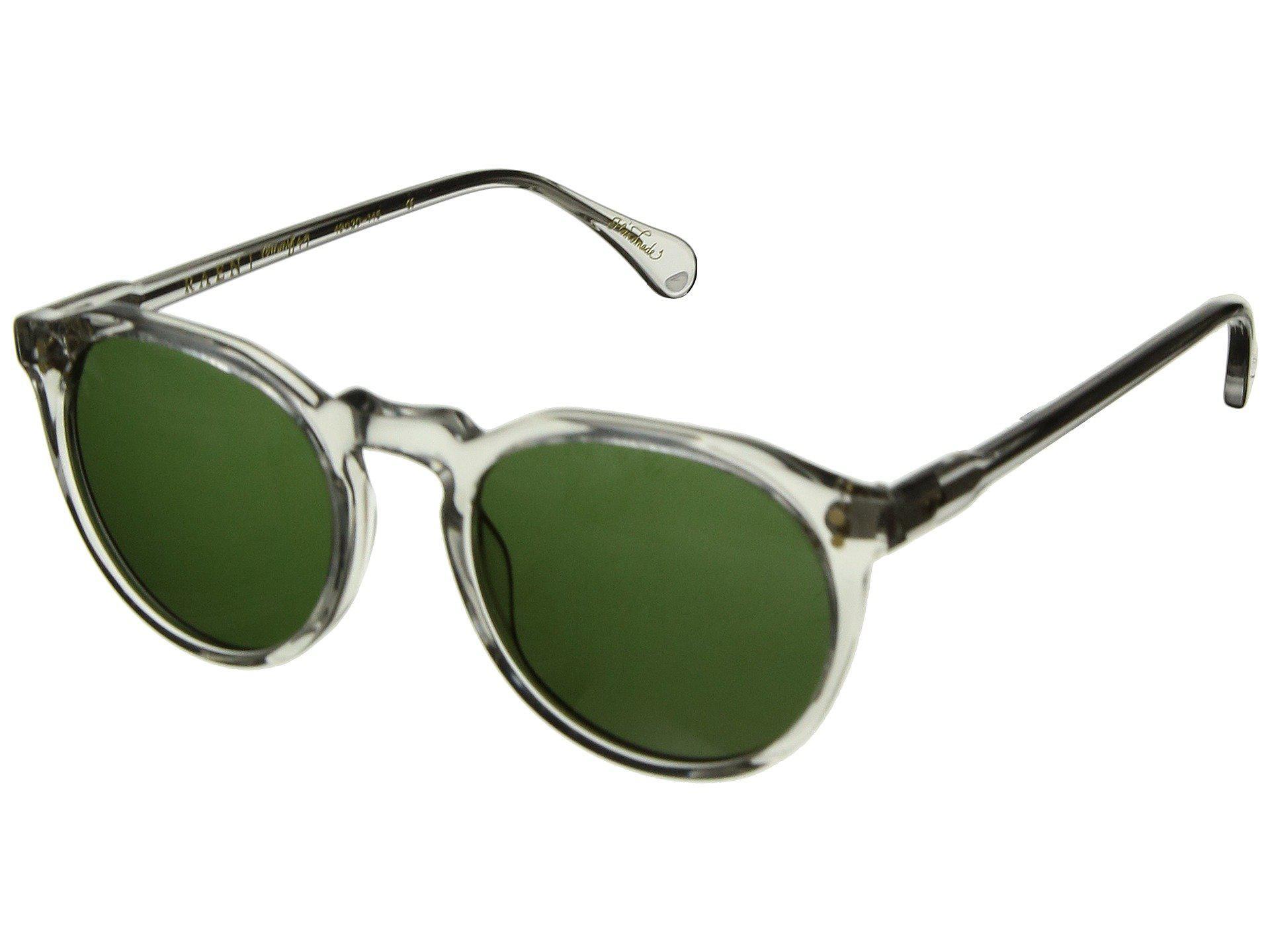 8e2f71071d05 Lyst - Raen Remmy 49 (matte Ash acid Brown) Sport Sunglasses in Green