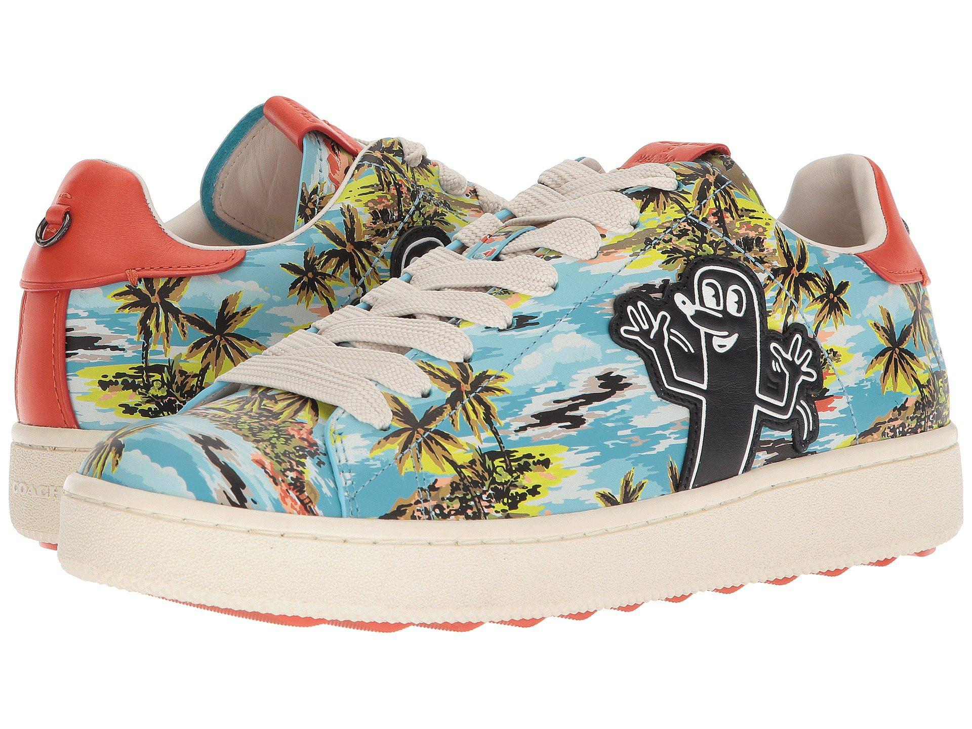 3d5f41afbc2e Lyst - COACH Keith Haring Hawaiian C101 (hawaiian Blue) Men s Shoes ...