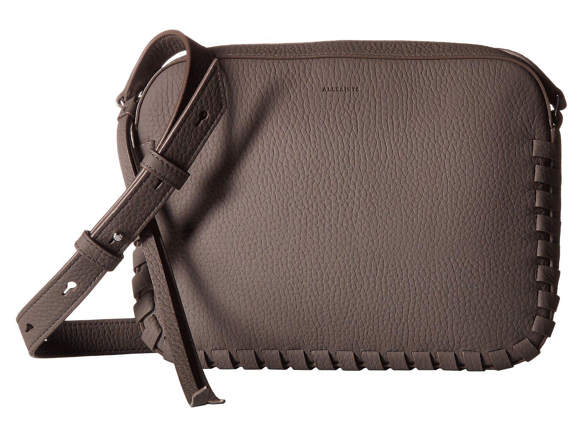 2ce75664d90 AllSaints Kepi Mini Crossbody (whisper Grey) Cross Body Handbags in ...