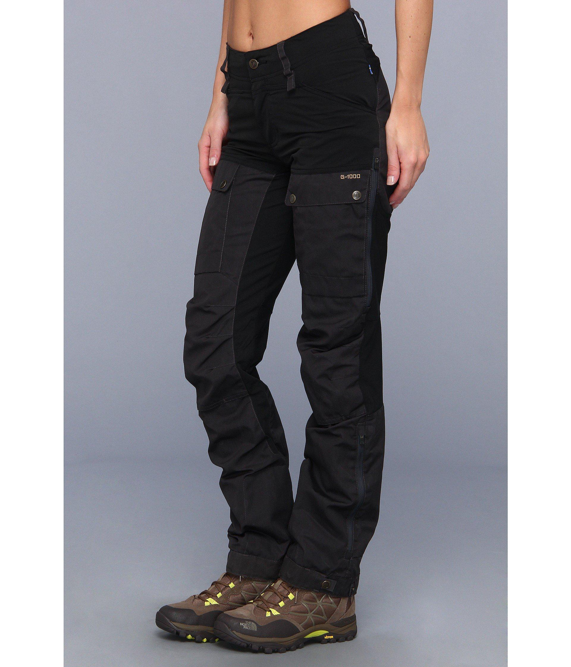 4f182598b3620 Fjallraven Keb Trousers in Black - Lyst