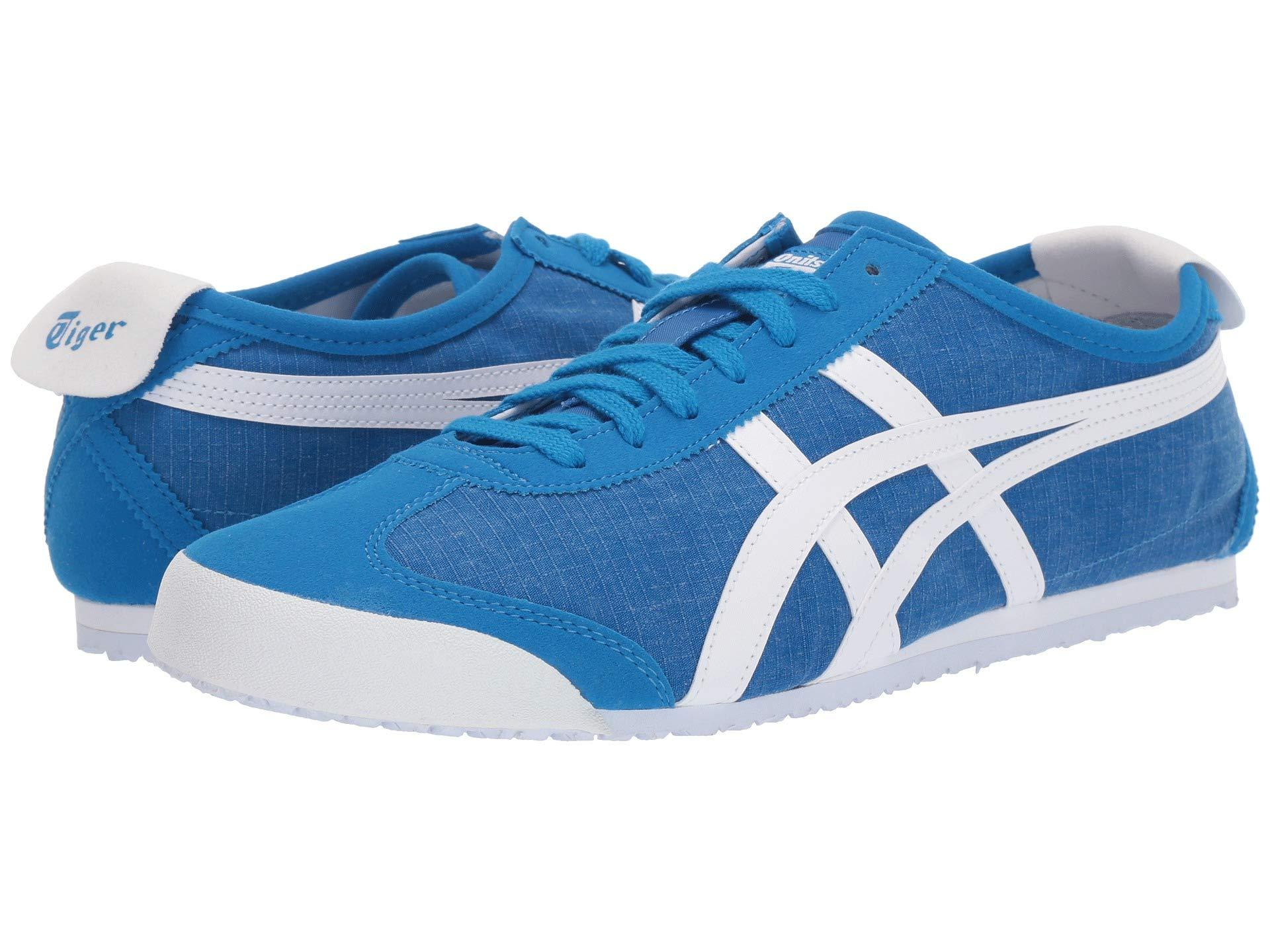 eeee8fb7e5 Lyst - Onitsuka Tiger Mexico 66 (directoire Blue/white) Lace Up ...