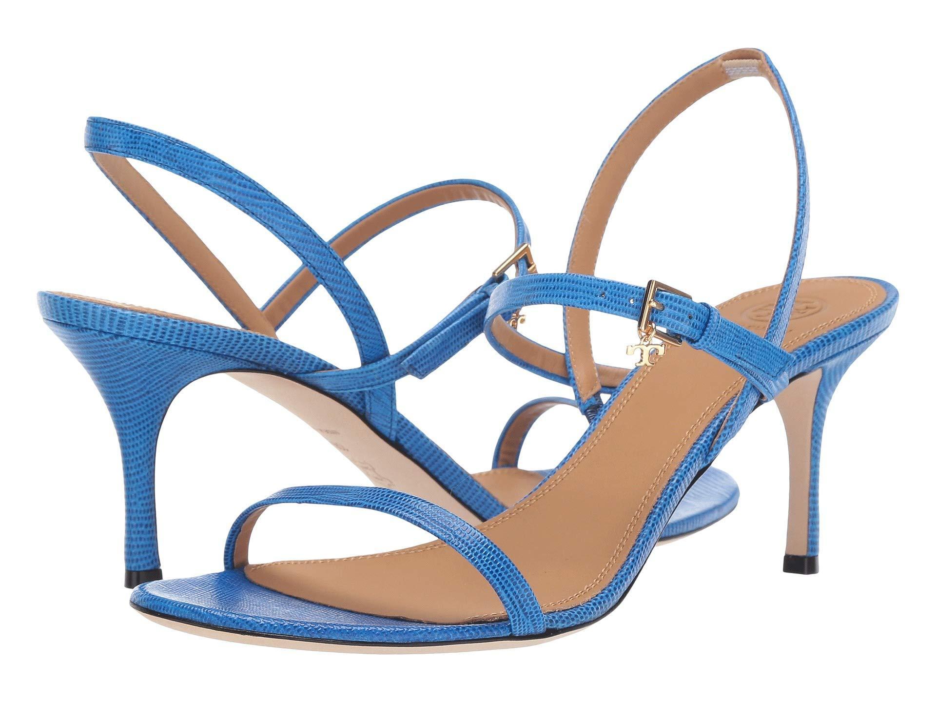 1cf38ec144f2 Lyst - Tory Burch Penelope Slingback Sandal in Blue