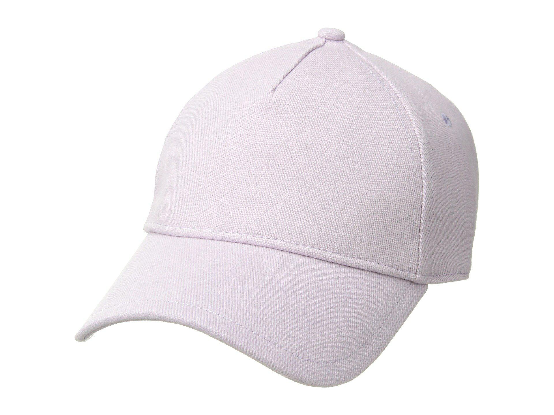 4efbdd4be6b Lyst - Rag   Bone Marilyn Baseball Cap (coral) Baseball Caps in Purple