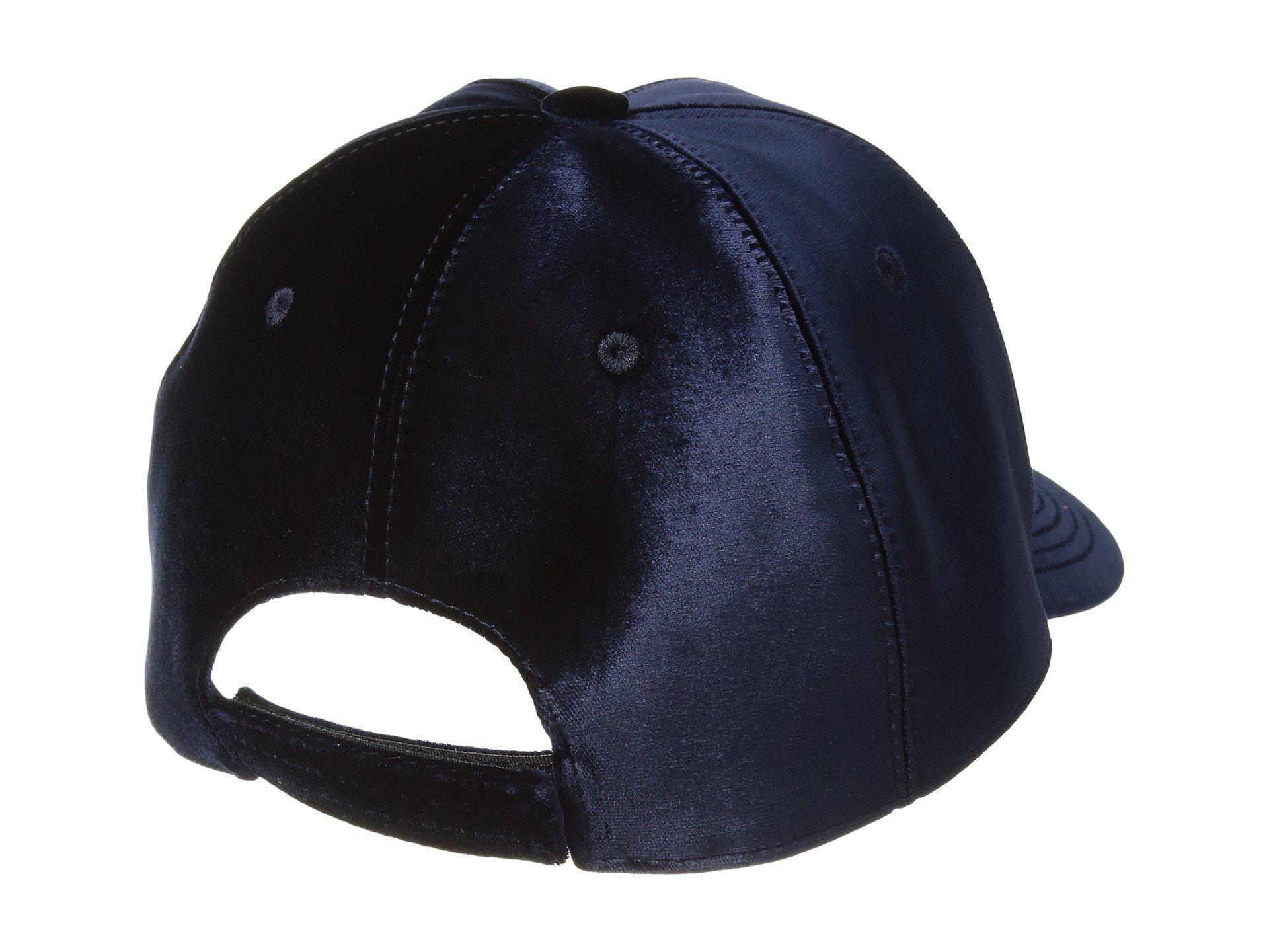 b562a1f2616 Lyst - Versace Velvet Crown Cap in Blue for Men