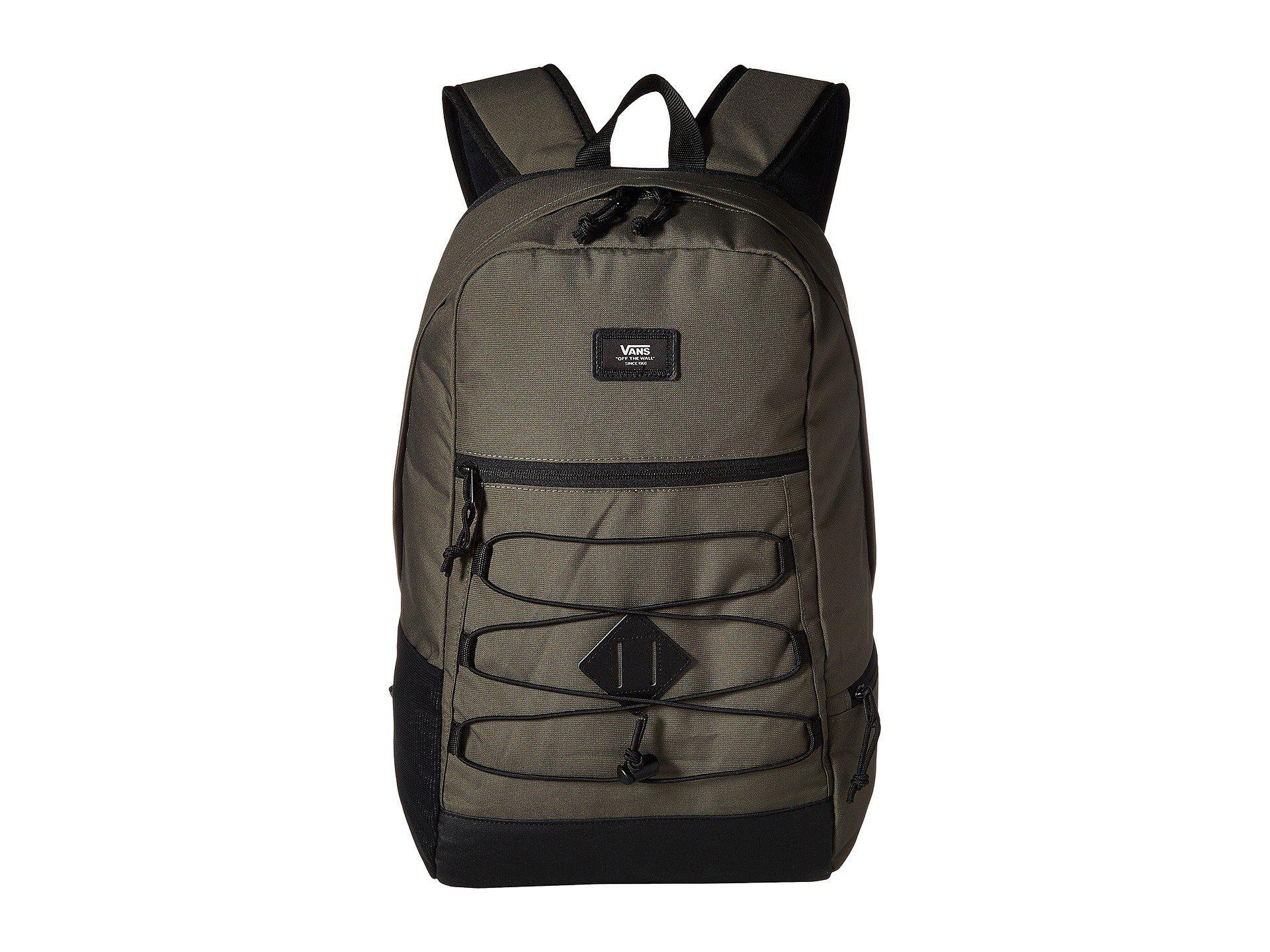 3a9f5426171 Vans Snag Plus Backpack (grape Leaf) Backpack Bags in Black for Men ...