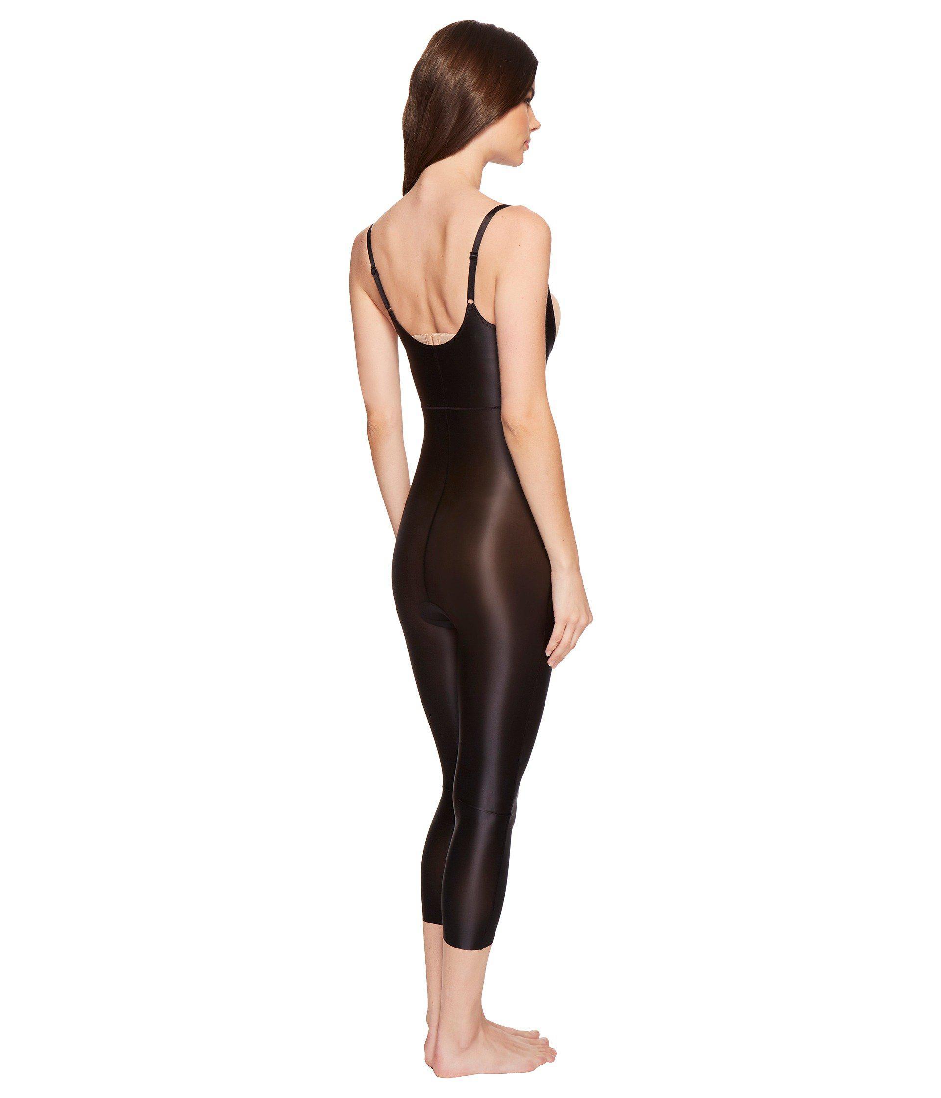8e08e24ef3d93e Spanx Suit Your Fancy Open-bust Catsuit (broadway Beige) Women's ...