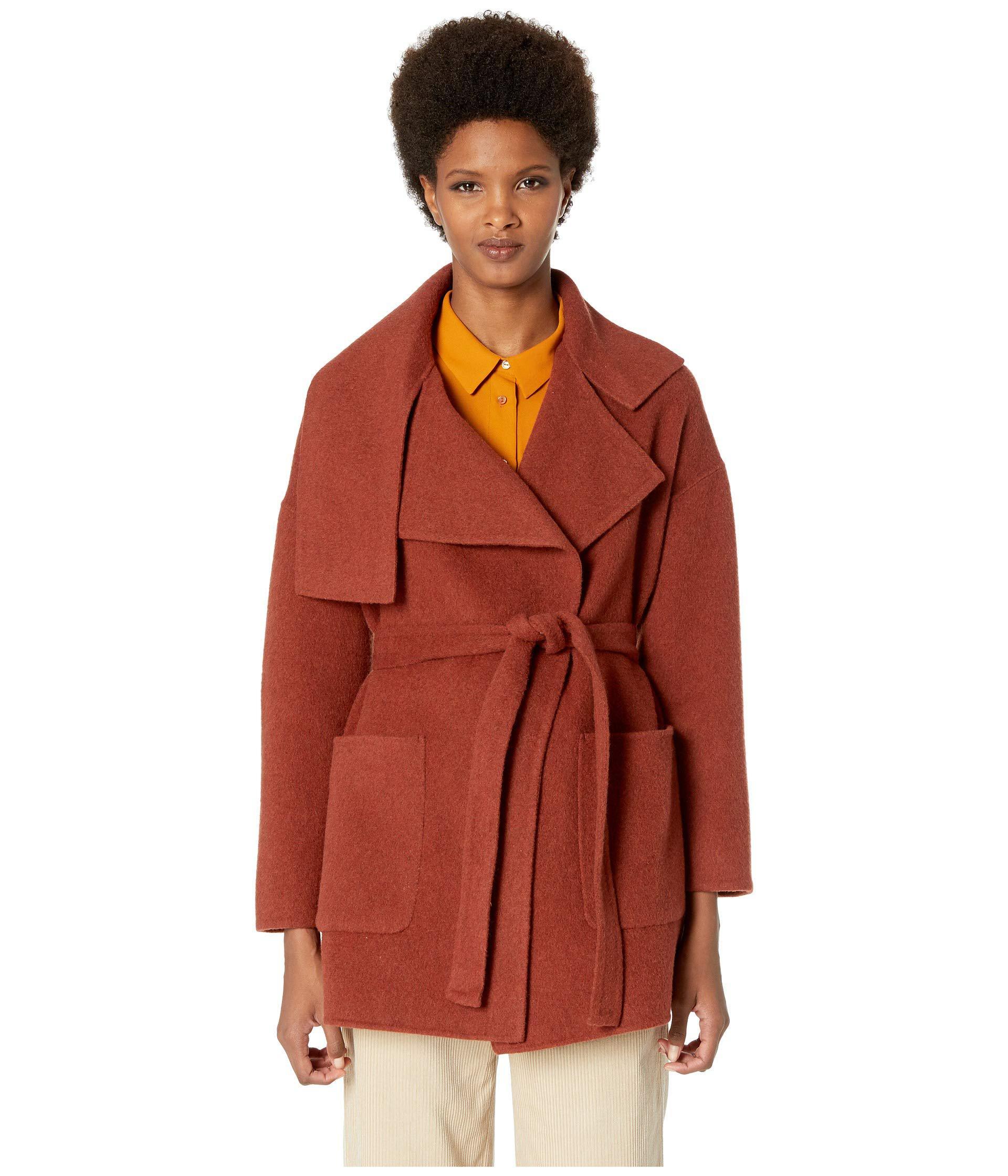 b00b65310de3d Lyst - Vince Blanket Coat (anise Red) Women s Coat in Red