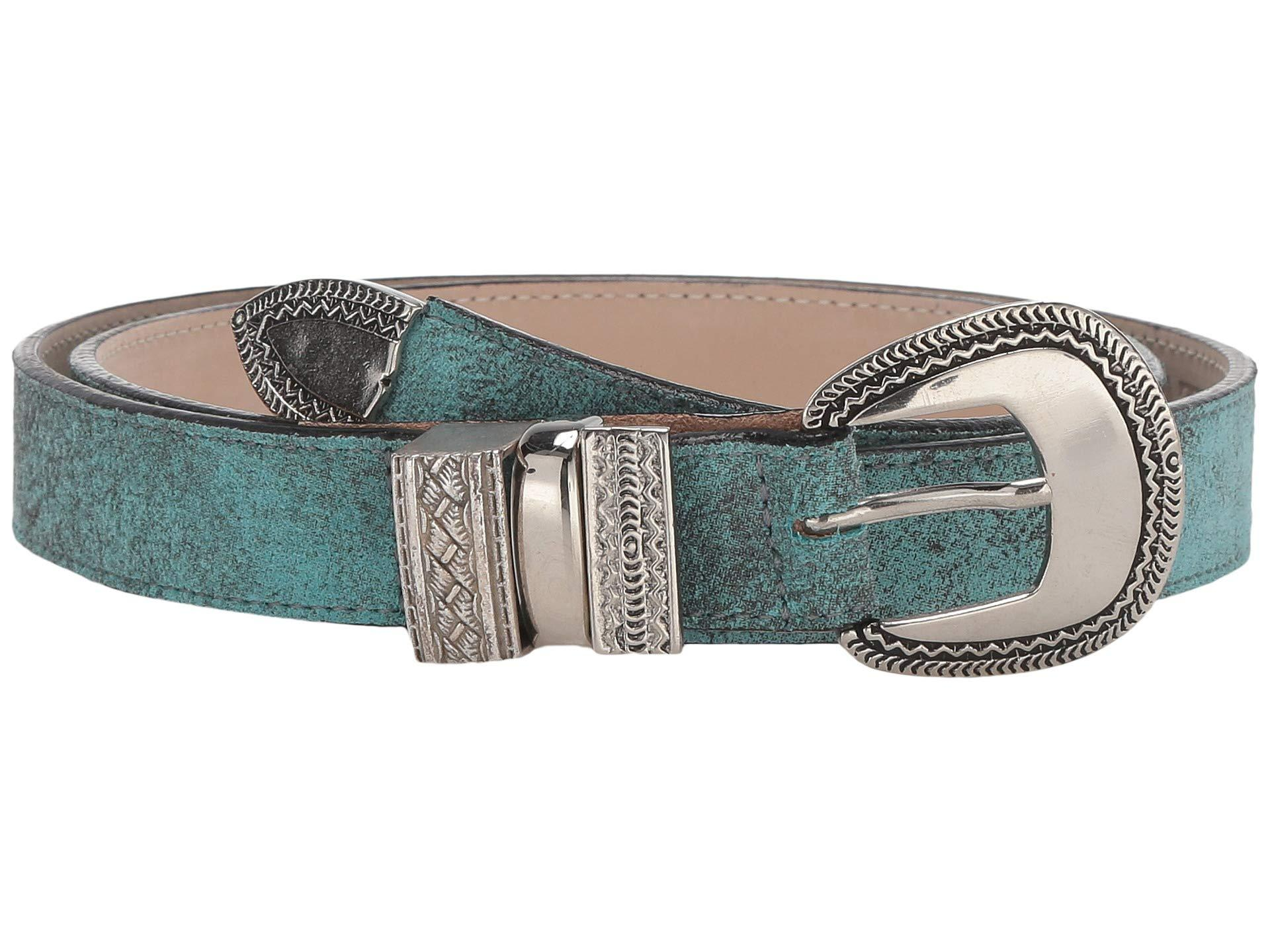 08bbb6db9 Leatherock Brandi Belt (turquoise) Women's Belts in Blue - Lyst