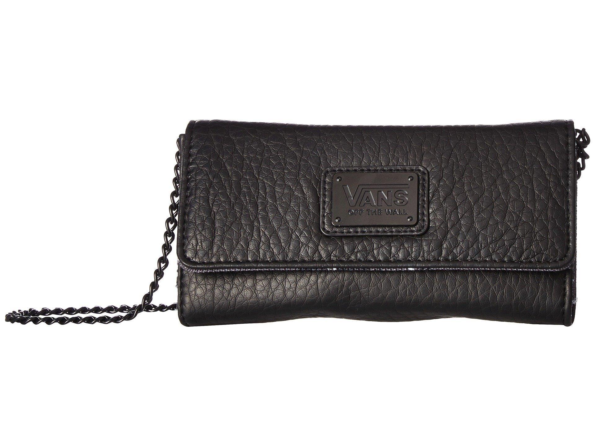 b0fa67b68ccd23 Lyst - Vans Chained Reaction Wallet (black leopard) Wallet Handbags ...