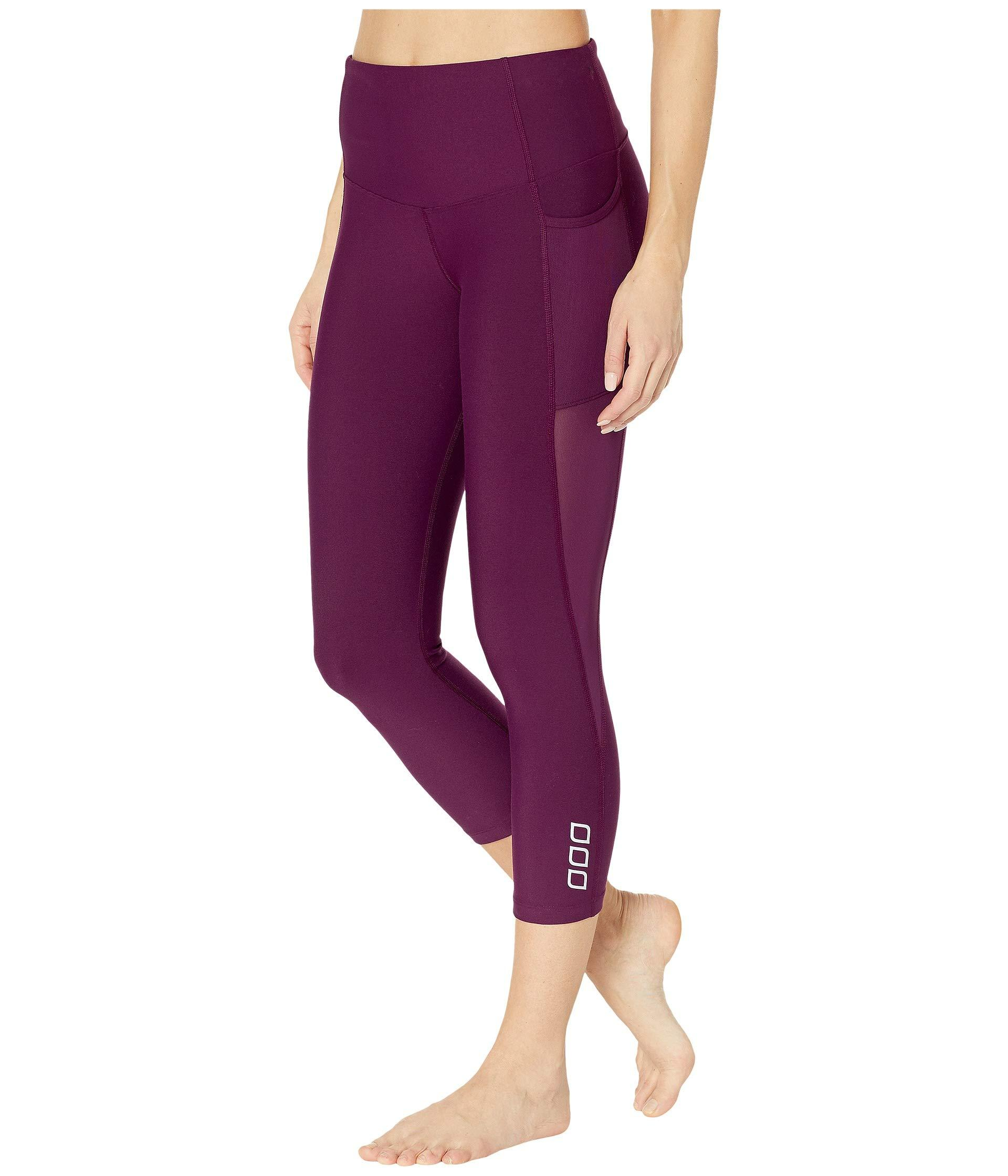 df6fc2ae080 Lorna Jane Move Freely Core 7 8 Tights (deep Mulberry) Women s Workout in  Purple - Lyst