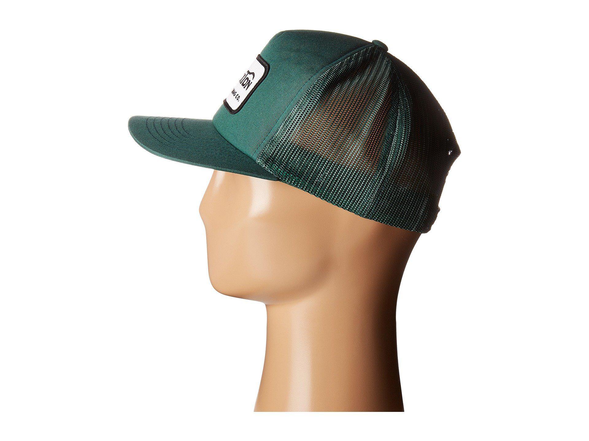 06ba7fb3334 Lyst - Brixton Grade Mesh Cap in Green for Men