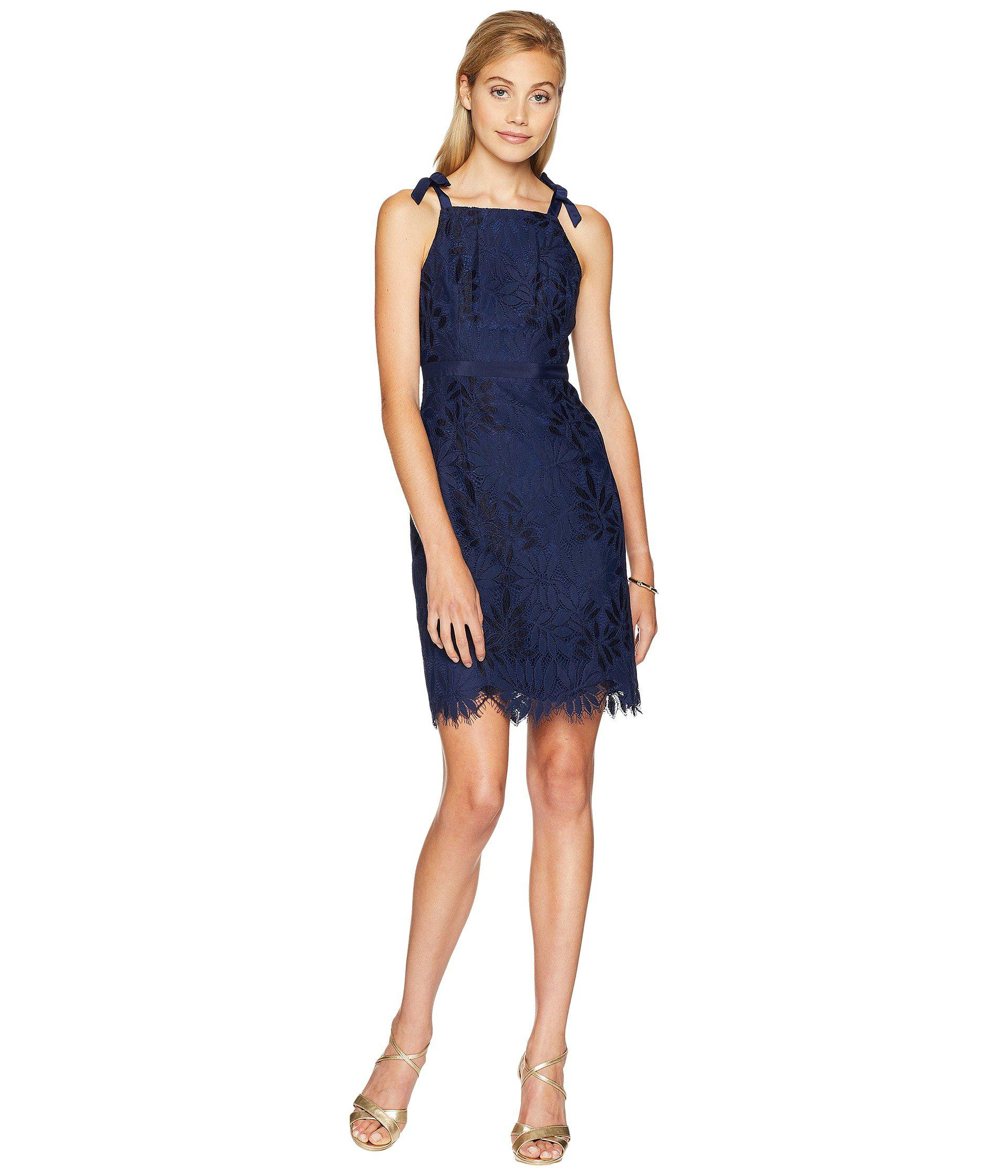 83f6defb7a80 Lyst - Lilly Pulitzer Kayleigh Shift Dress (tidal Wave Fern Gallery ...