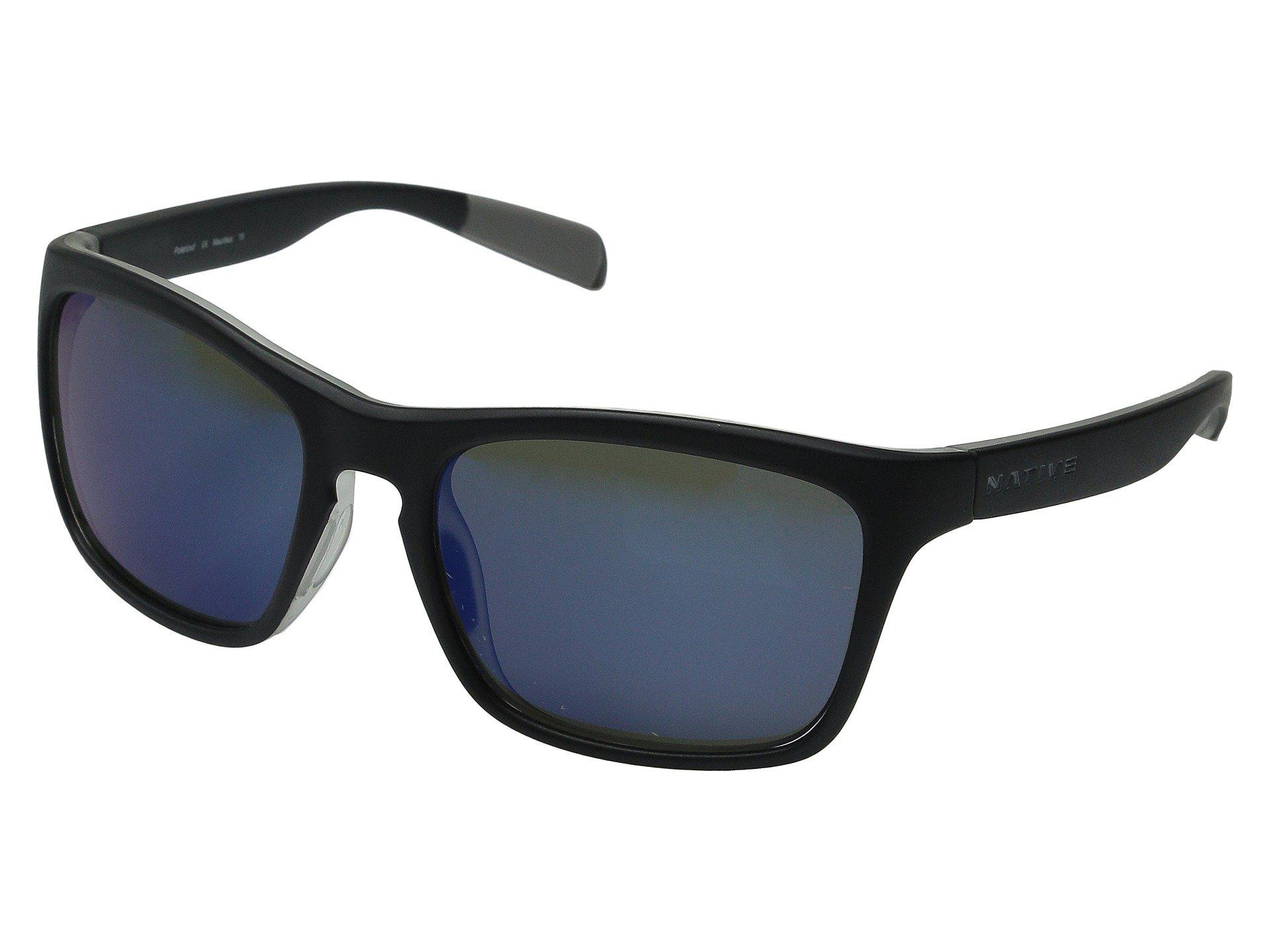 46d301fb564 Lyst - Native Eyewear Penrose (wood black) Sport Sunglasses in Blue
