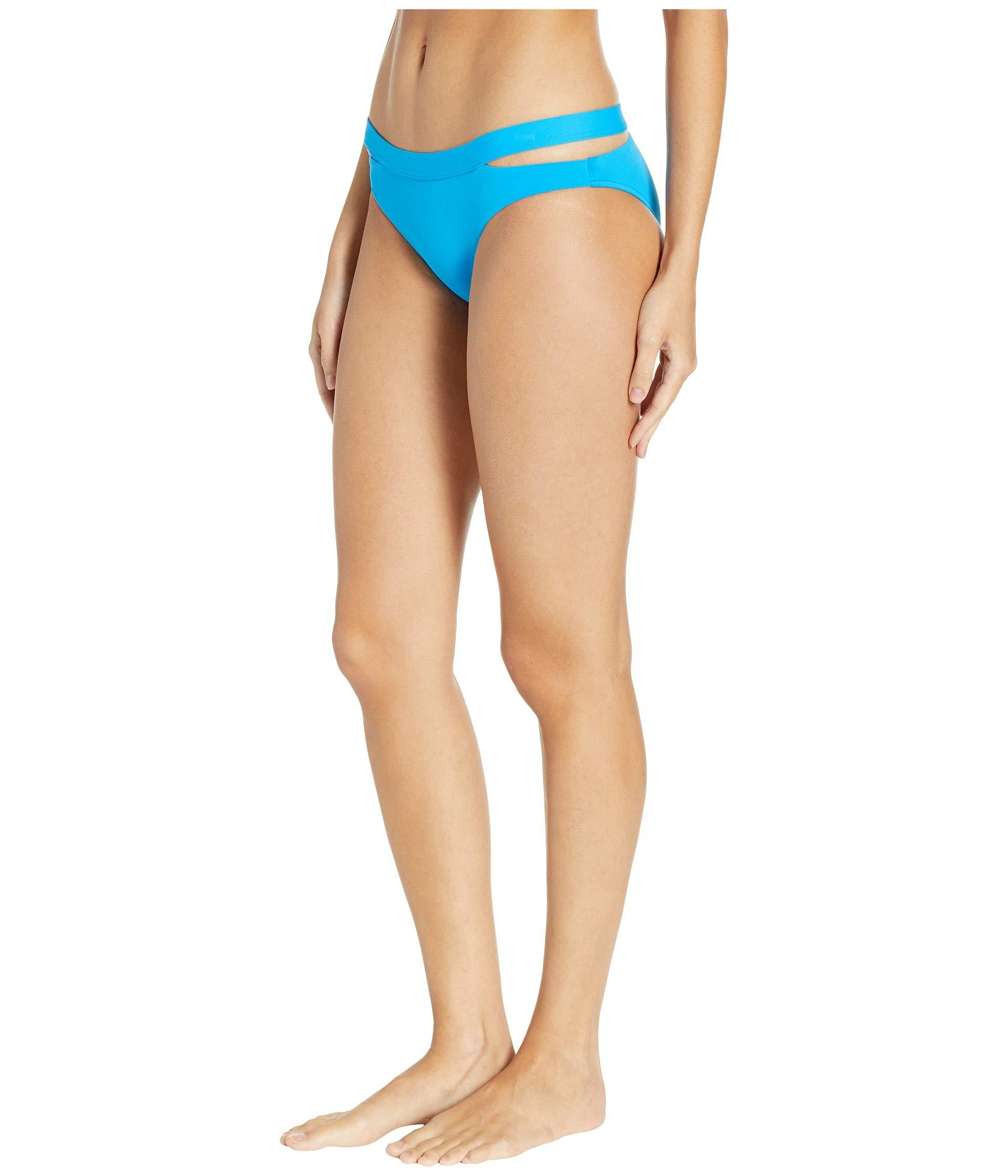 89ef8f1c6bd6f Seafolly Fastlane Active Split Band Hipster Bottoms in Blue - Lyst