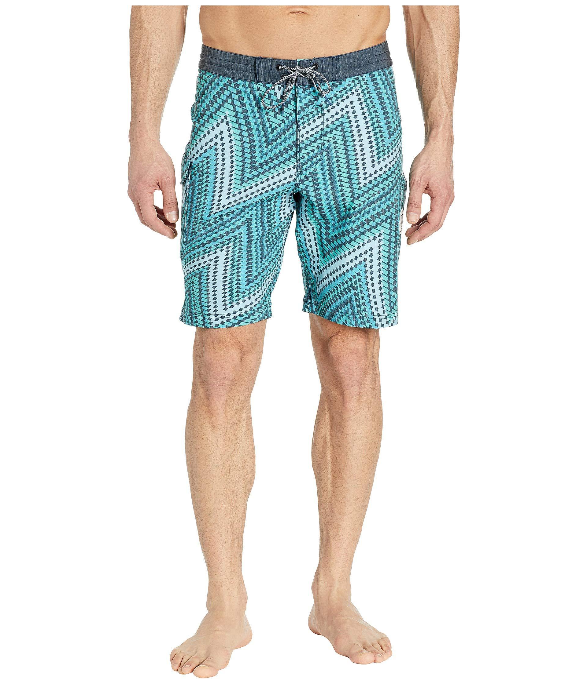 5d175673da Lyst - Vissla 20 Del Mar Swim Shorts (cool Blue) Men's Swimwear in ...