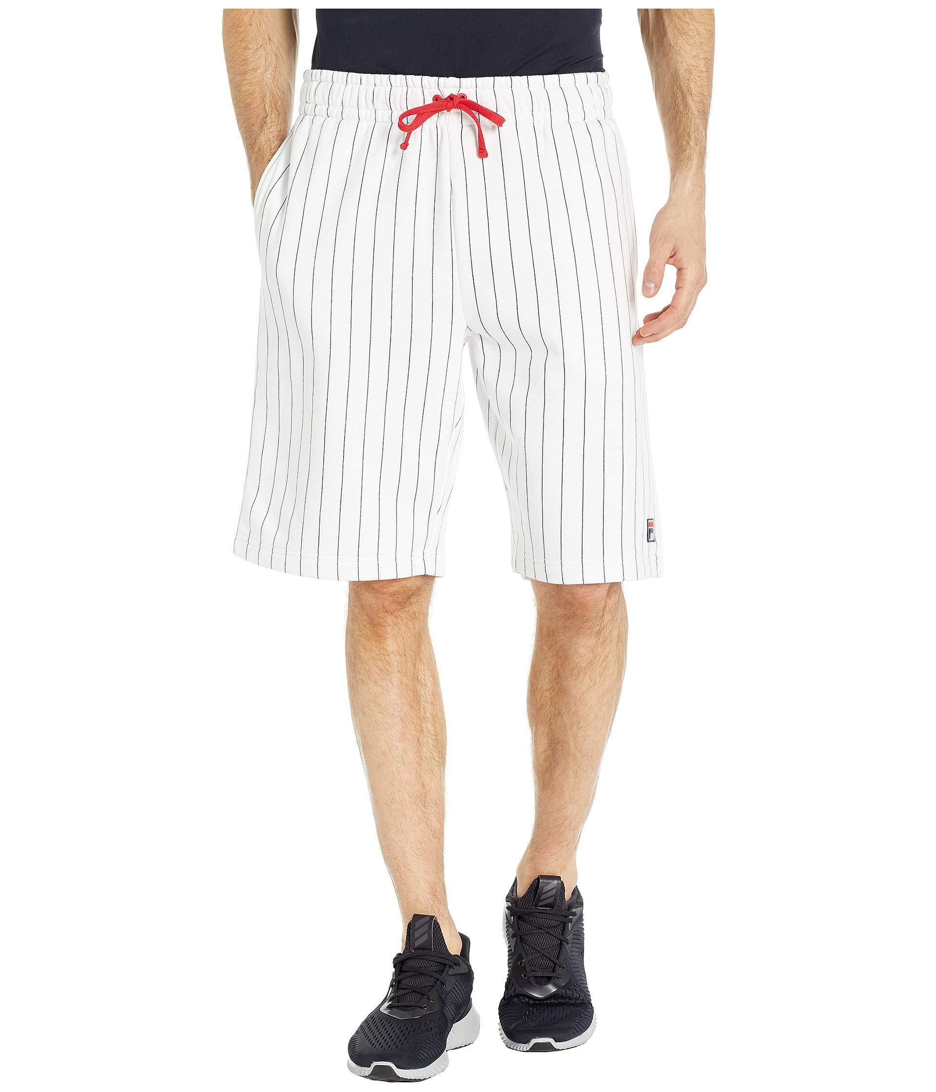 97703372b08db Lyst - Fila Bb1 Shorts (white/peach/chinese Red) Men's Shorts in ...