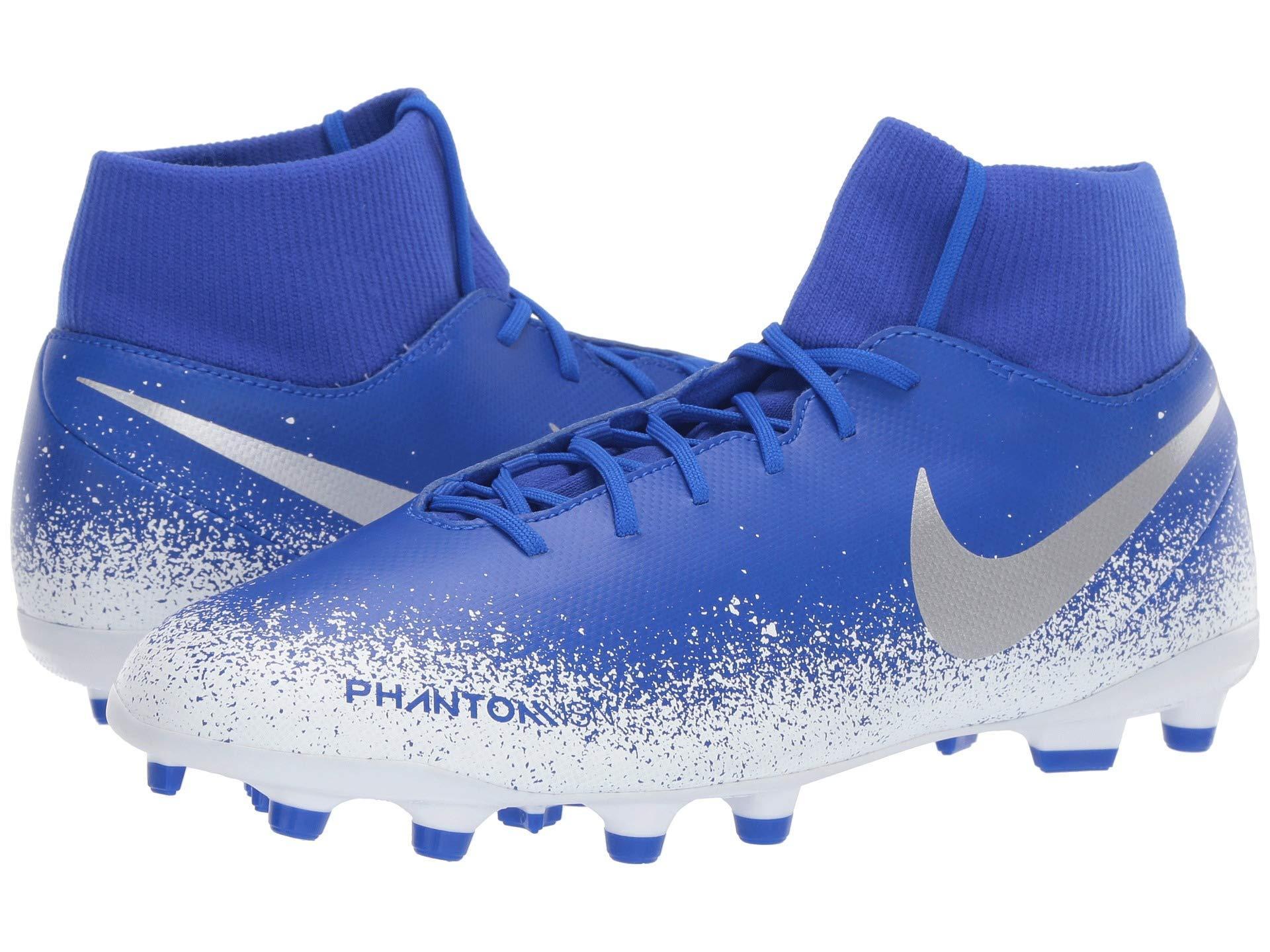 huge selection of 4c430 80c54 Nike. Phantom Vsn Club Df Mg (racer Blue racer Blue black) Men s Soccer  Shoes