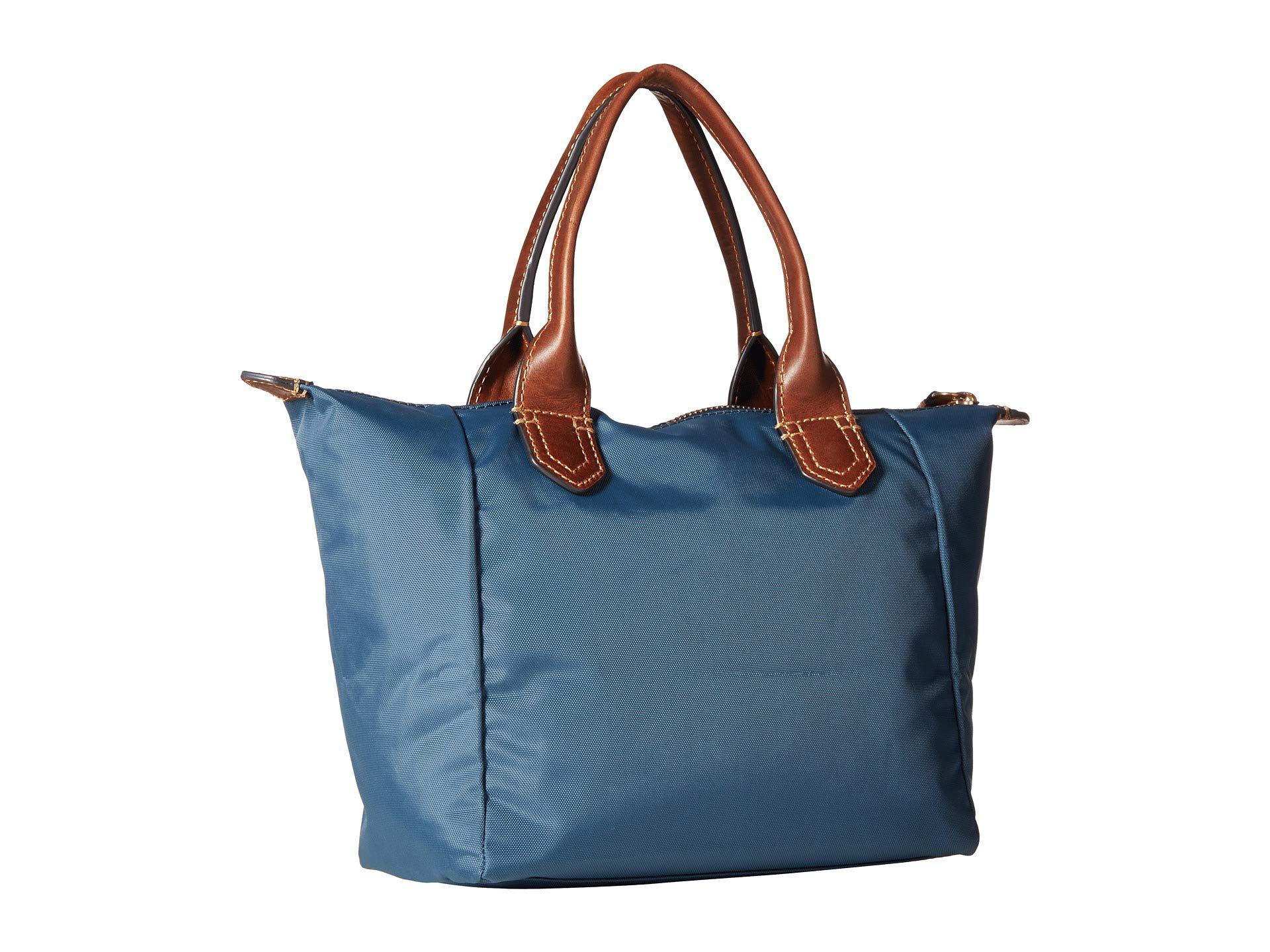 7cacdbcf835 View Fullscreen. Lyst Frye Ivy Small Satchel Pea Nylon Handbags In Blue