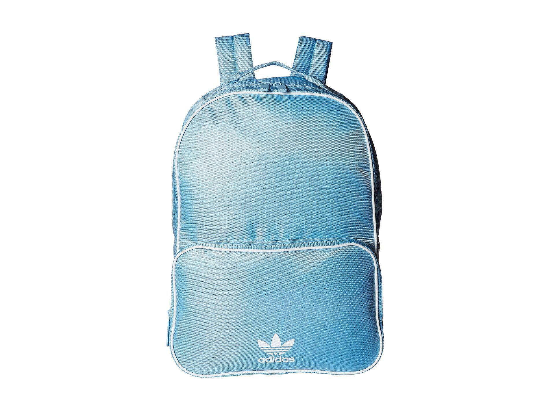 19fc1f469a Lyst - adidas Originals Originals Santiago Backpack (clear Blue ...