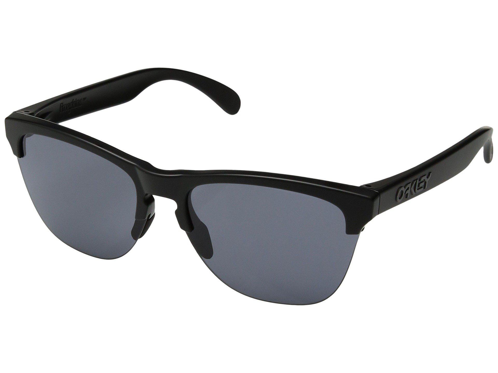 bad4b72c078 Oakley. Women s Black Frogskins Lite (matte Trans Sapphire W  Prizm Sapphire)  Athletic Performance Sport Sunglasses