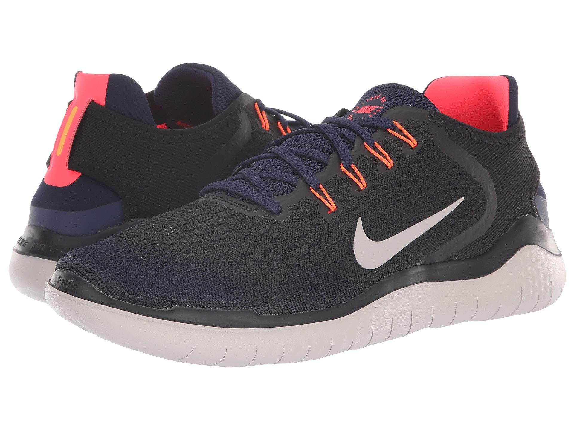 d7c410b082e1a Nike Men S Free Rn 2018 Running Shoes Black - Style Guru  Fashion ...