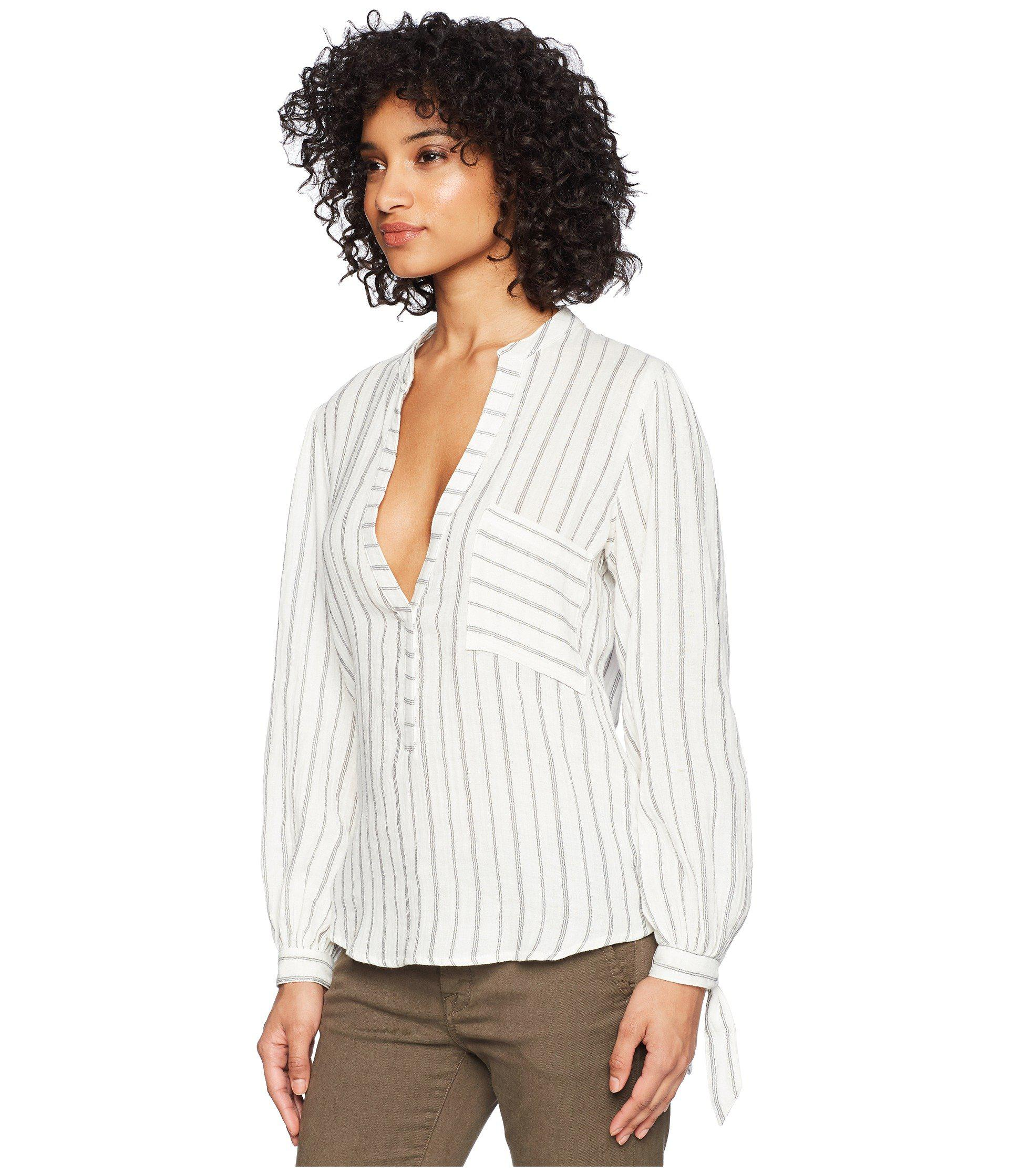 Lyst Jen S Pirate Booty Salerno Top Pinstripe Women S Clothing