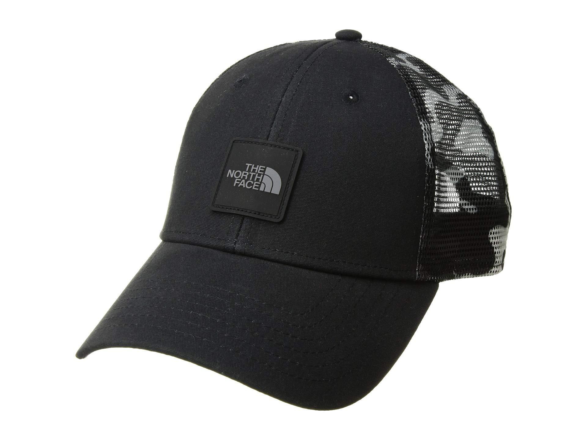 2c55b8dafcf03 The North Face Mudder Novelty Mesh Trucker Hat (tnf Black ...