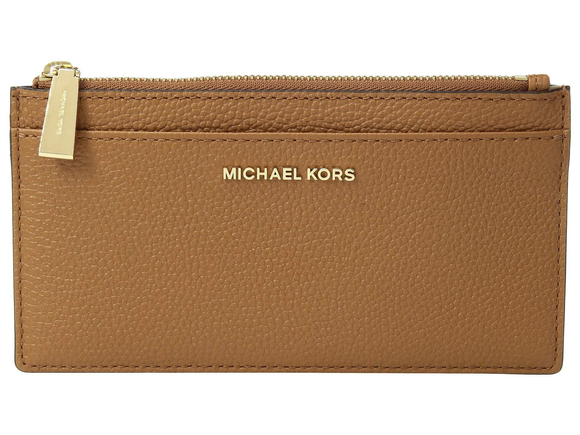 782f4e9b69d0ab MICHAEL Michael Kors Large Slim Card Case (black) Credit Card Wallet ...