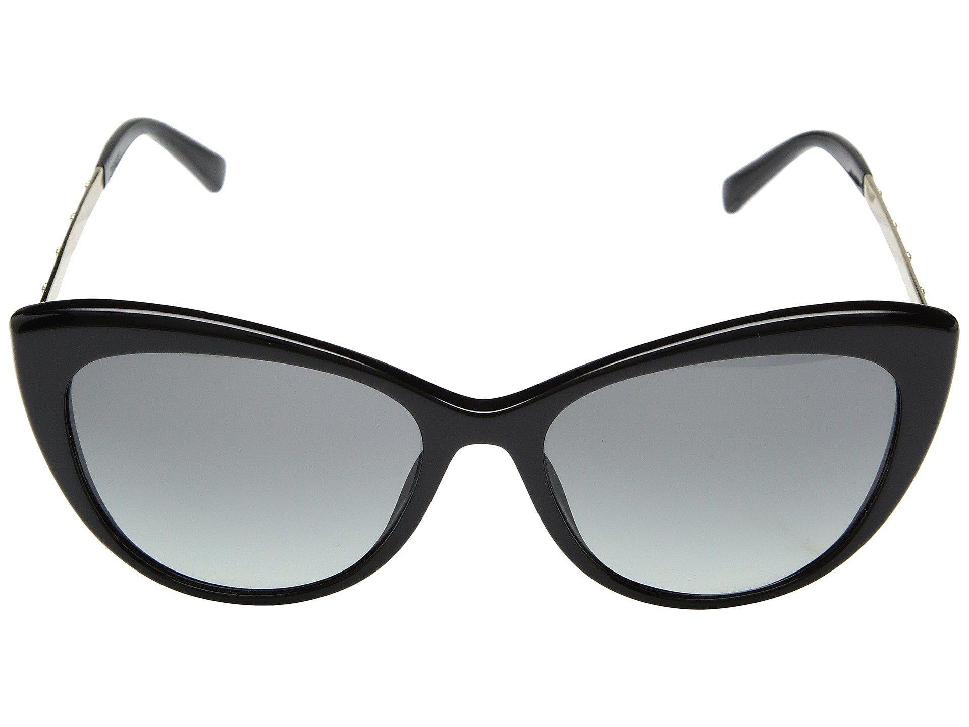 d6d336737f6 Lyst - Versace Ve4348 (black grey Gradient) Fashion Sunglasses in Black