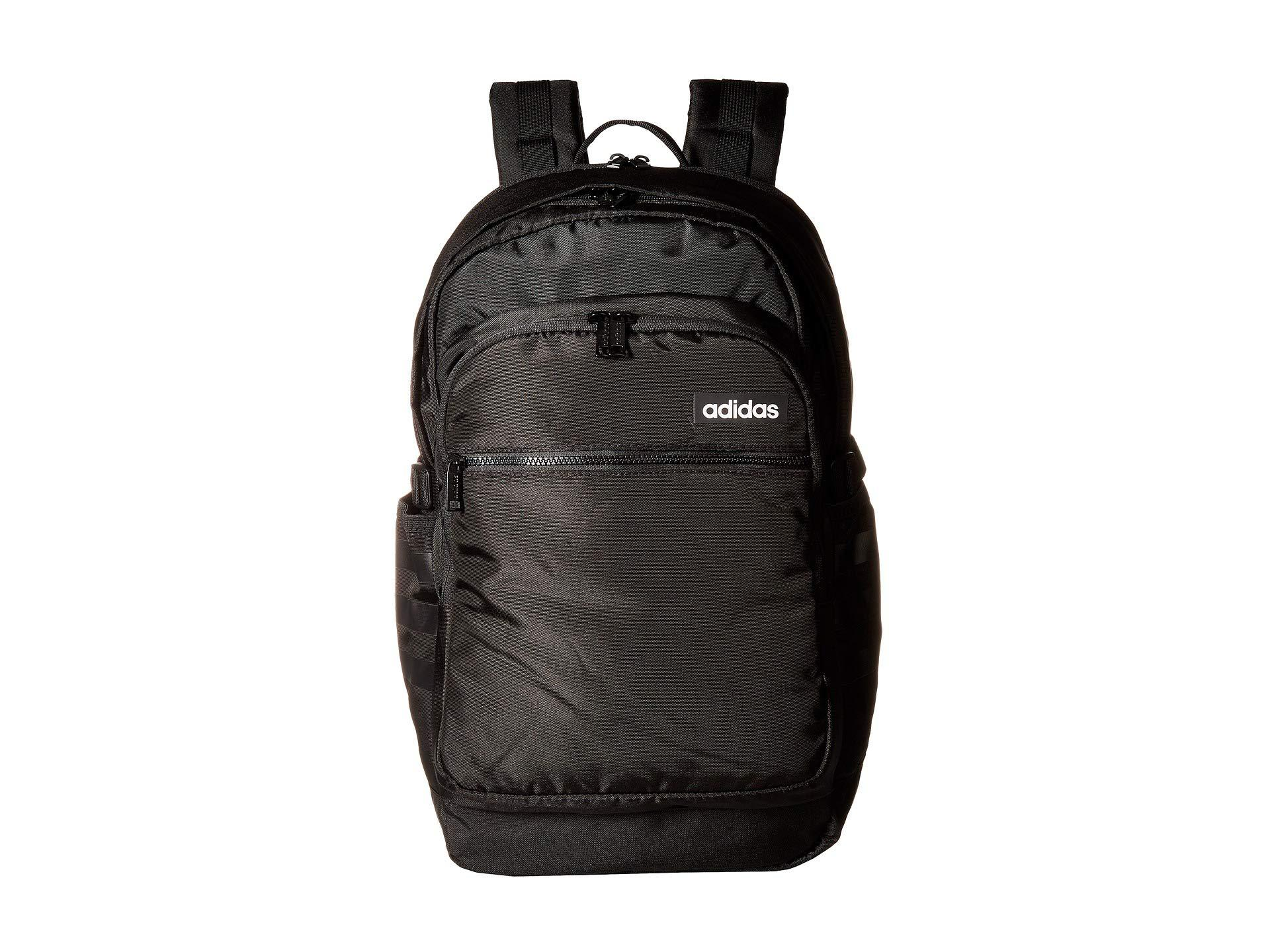 Lyst - adidas Core Advantage Backpack (black) Backpack Bags in Black ... f410d83a9ef8e